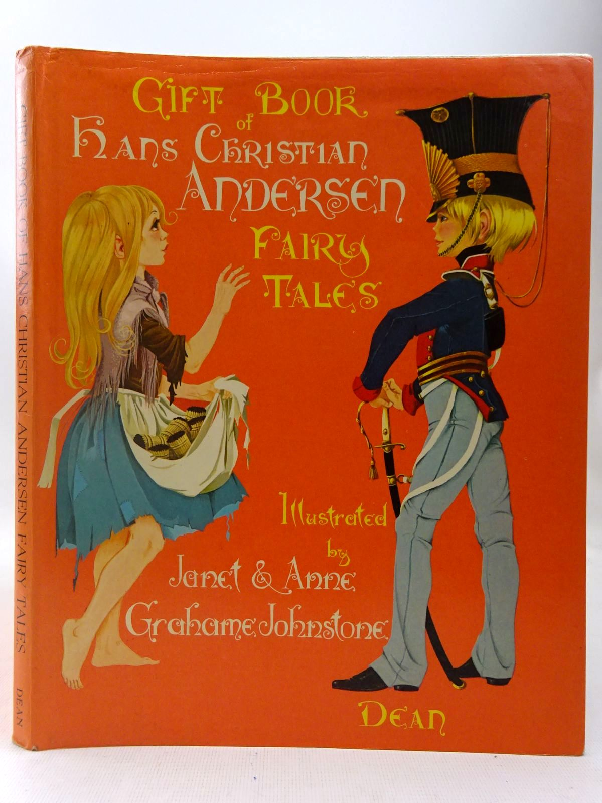 Photo of DEAN'S GIFT BOOK OF HANS CHRISTIAN ANDERSEN FAIRY TALES written by Andersen, Hans Christian illustrated by Johnstone, Janet Grahame