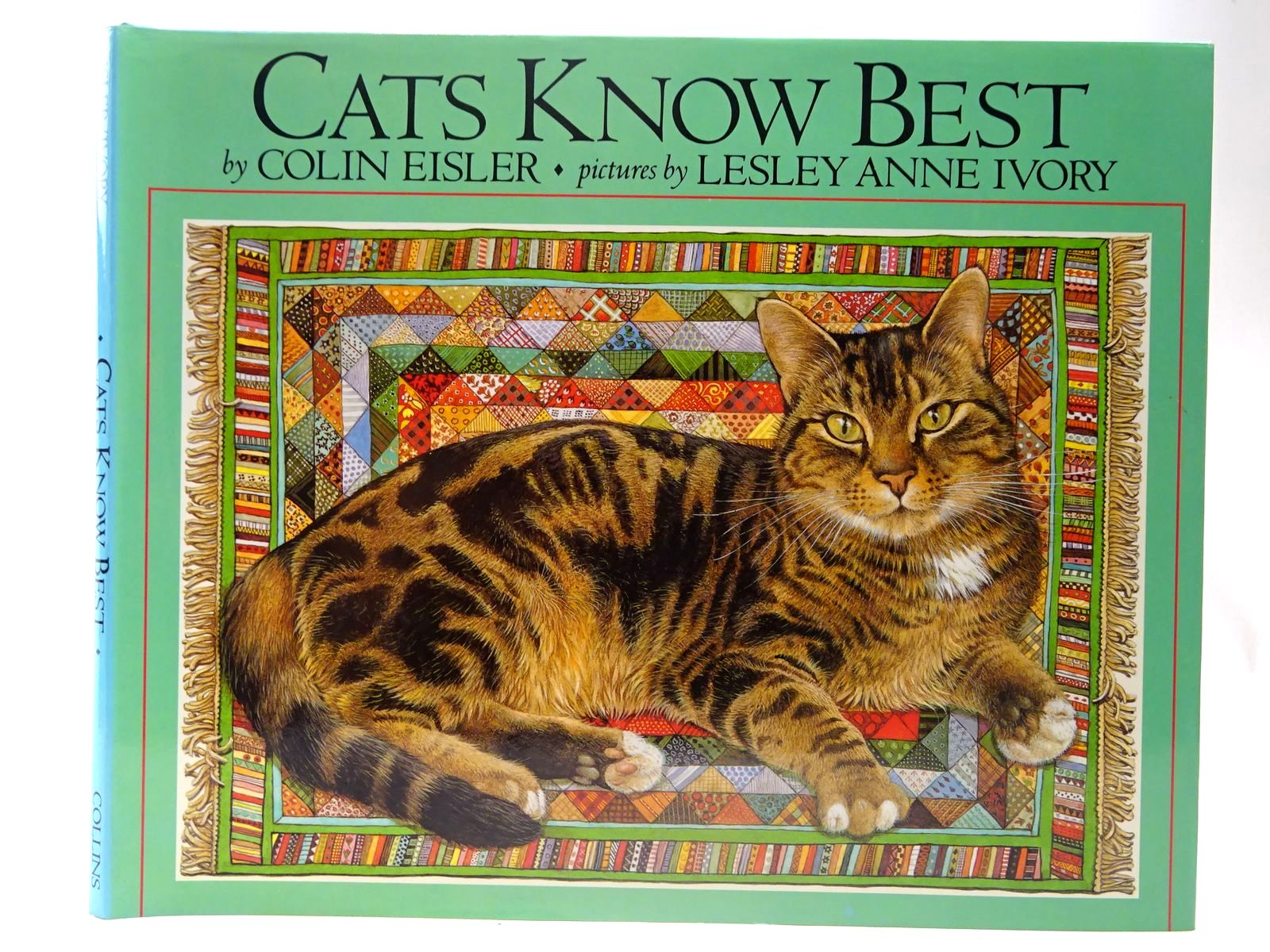 Photo of CATS KNOW BEST written by Eisler, Colin illustrated by Ivory, Lesley Anne published by Collins (STOCK CODE: 2127408)  for sale by Stella & Rose's Books