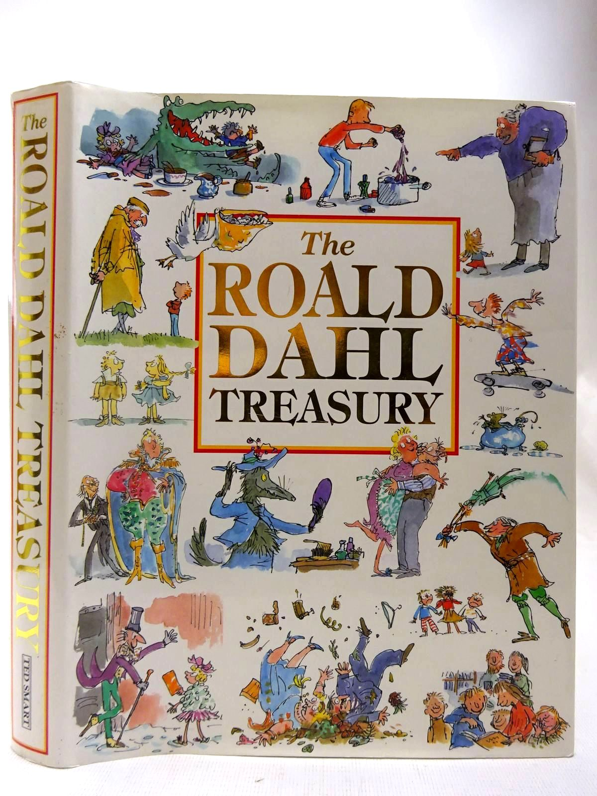 Photo of THE ROALD DAHL TREASURY written by Dahl, Roald illustrated by Blake, Quentin<br />Briggs, Raymond<br />Benson, Patrick<br />et al.,  published by Ted Smart (STOCK CODE: 2127417)  for sale by Stella & Rose's Books