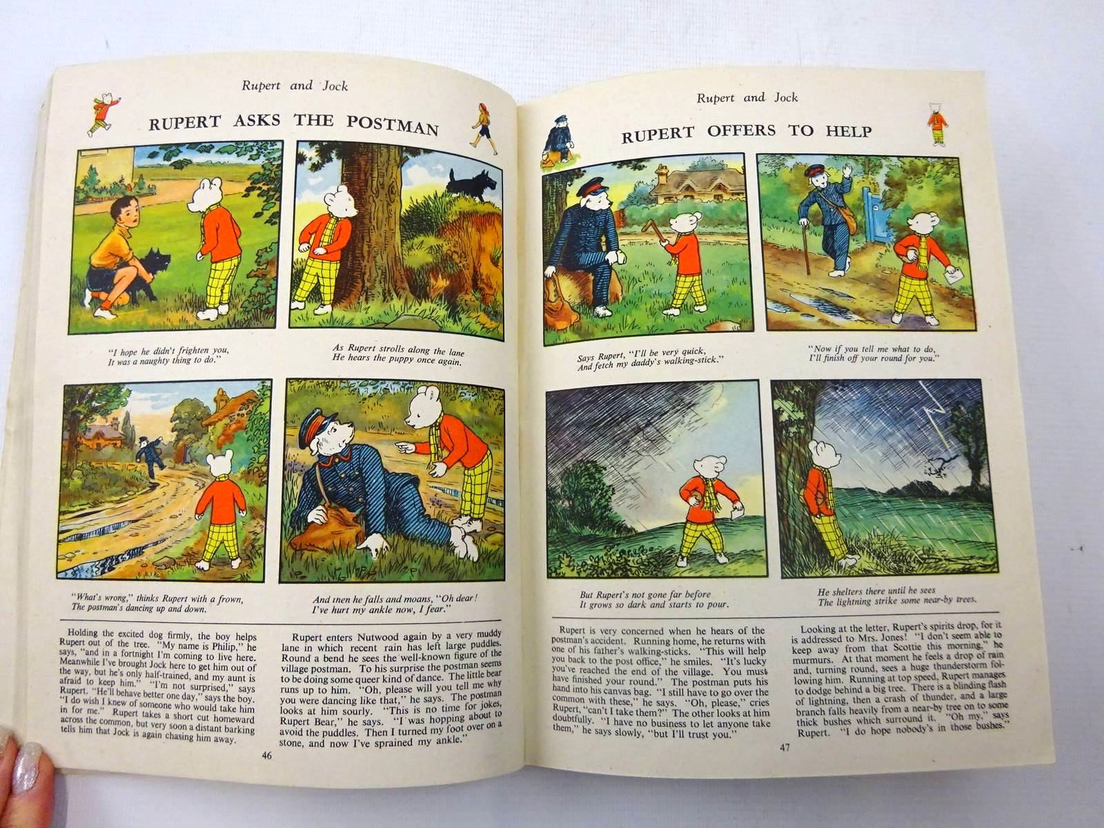 Photo of RUPERT ANNUAL 1945 - A NEW RUPERT BOOK written by Bestall, Alfred illustrated by Bestall, Alfred published by Daily Express (STOCK CODE: 2127421)  for sale by Stella & Rose's Books