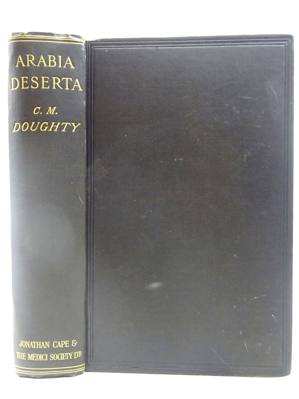 Photo of TRAVELS IN ARABIA DESERTA written by Doughty, Charles M.