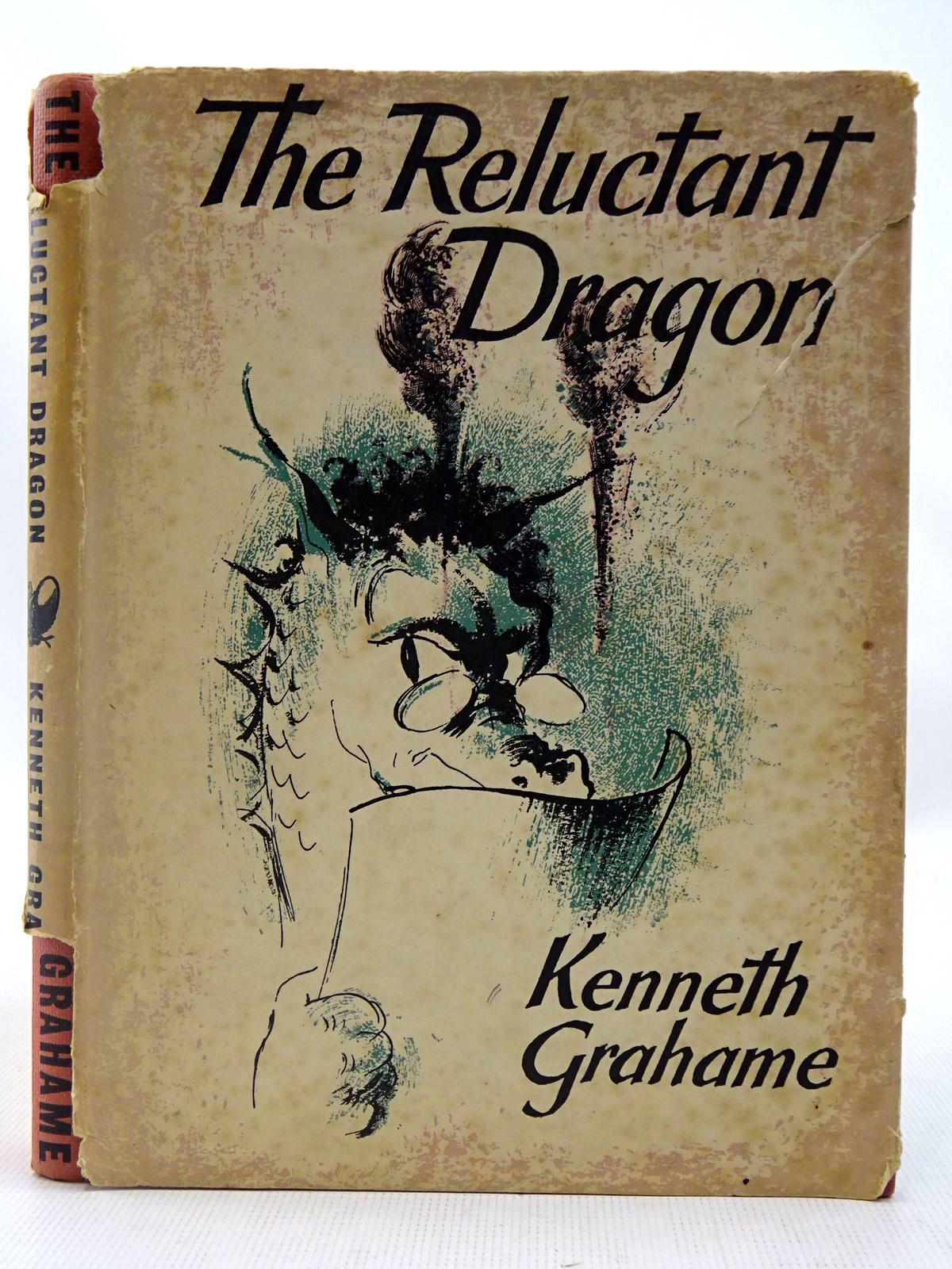 Photo of THE RELUCTANT DRAGON written by Grahame, Kenneth illustrated by Fortnum, Peggy published by The Bodley Head (STOCK CODE: 2127485)  for sale by Stella & Rose's Books