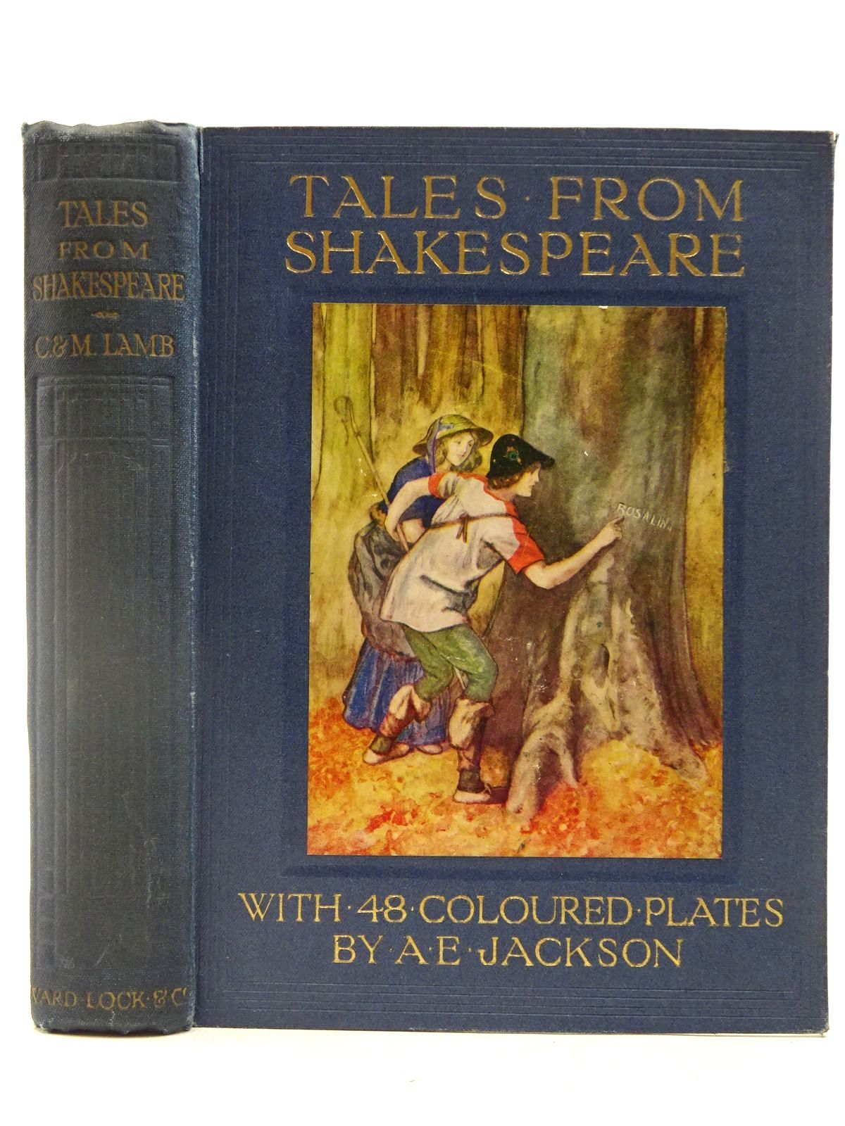 Photo of TALES FROM SHAKESPEARE written by Lamb, Charles Lamb, Mary illustrated by Jackson, A.E. published by Ward Lock & Co Ltd. (STOCK CODE: 2127488)  for sale by Stella & Rose's Books