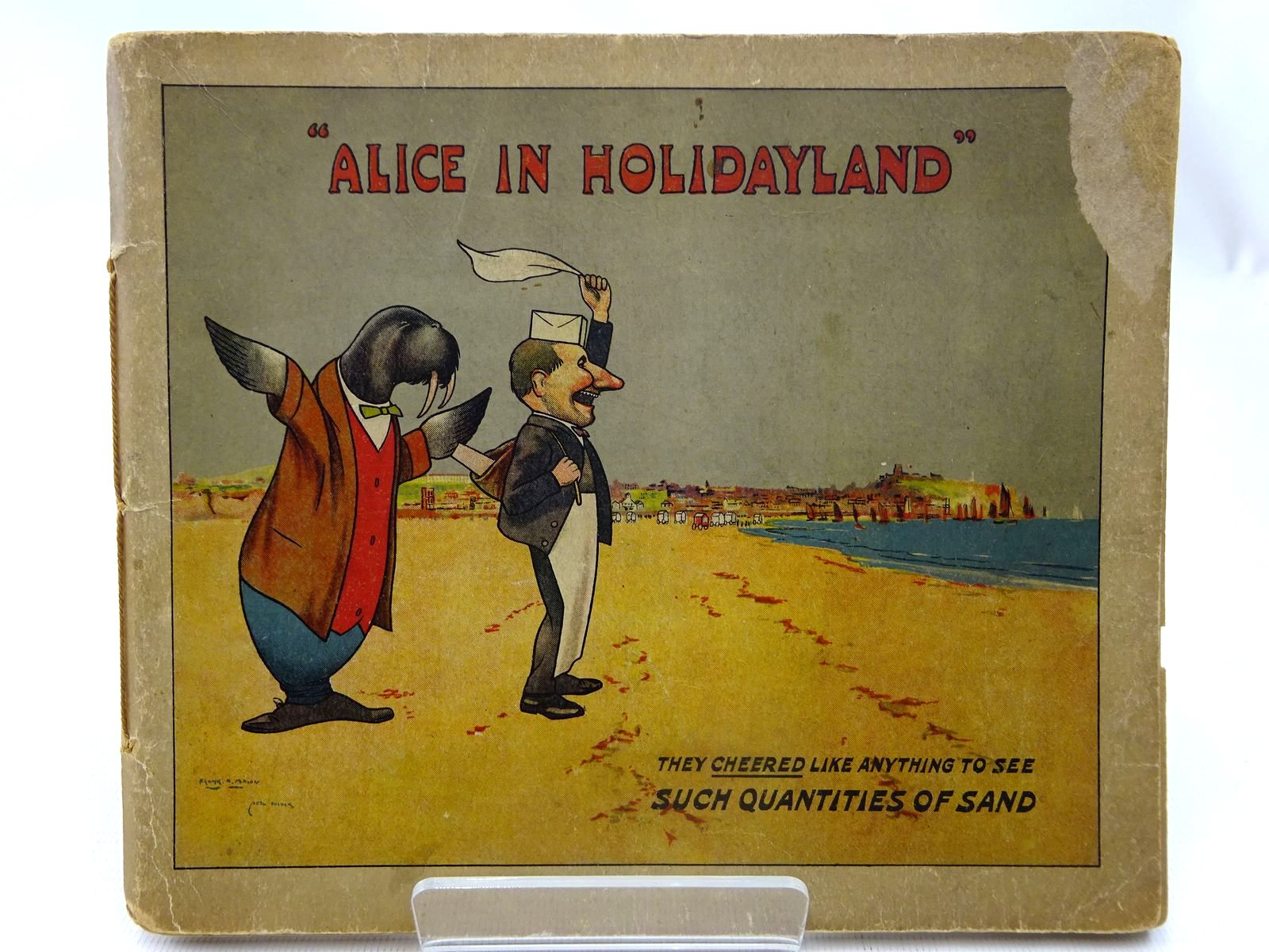 Photo of ALICE IN HOLIDAYLAND written by Martindale, F.W. illustrated by Mason, Frank H.<br />Pocock, Noel published by Chorley &amp; Pickersgill Ltd (STOCK CODE: 2127507)  for sale by Stella & Rose's Books
