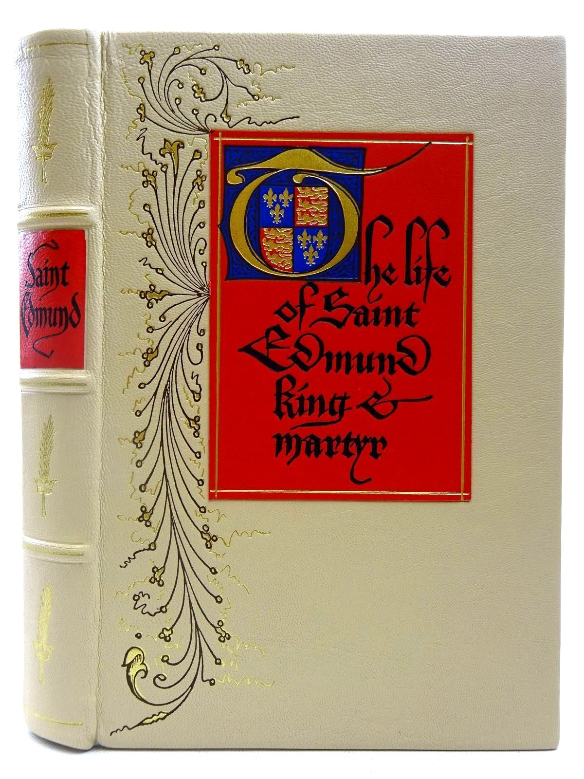 Photo of THE LIFE OF SAINT EDMUND KING & MARTYR written by Lydgate, John Edwards, A.S.G. published by Folio Society (STOCK CODE: 2127512)  for sale by Stella & Rose's Books