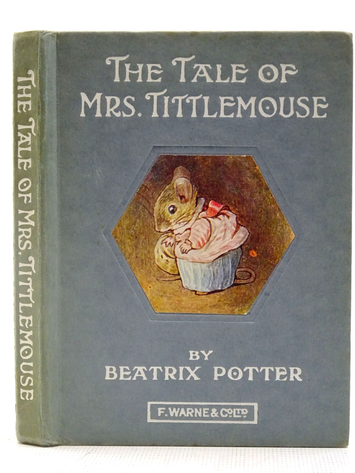 Photo of THE TALE OF MRS. TITTLEMOUSE written by Potter, Beatrix illustrated by Potter, Beatrix published by Frederick Warne & Co Ltd. (STOCK CODE: 2127639)  for sale by Stella & Rose's Books