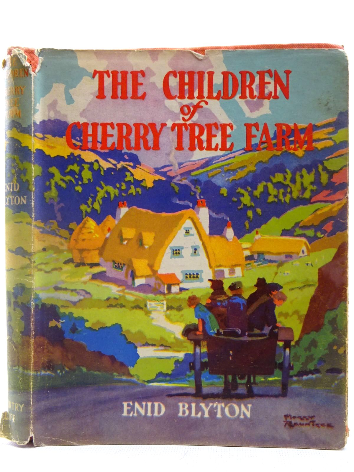 Photo of THE CHILDREN OF CHERRY-TREE FARM written by Blyton, Enid illustrated by Rountree, Harry published by Country Life (STOCK CODE: 2127663)  for sale by Stella & Rose's Books