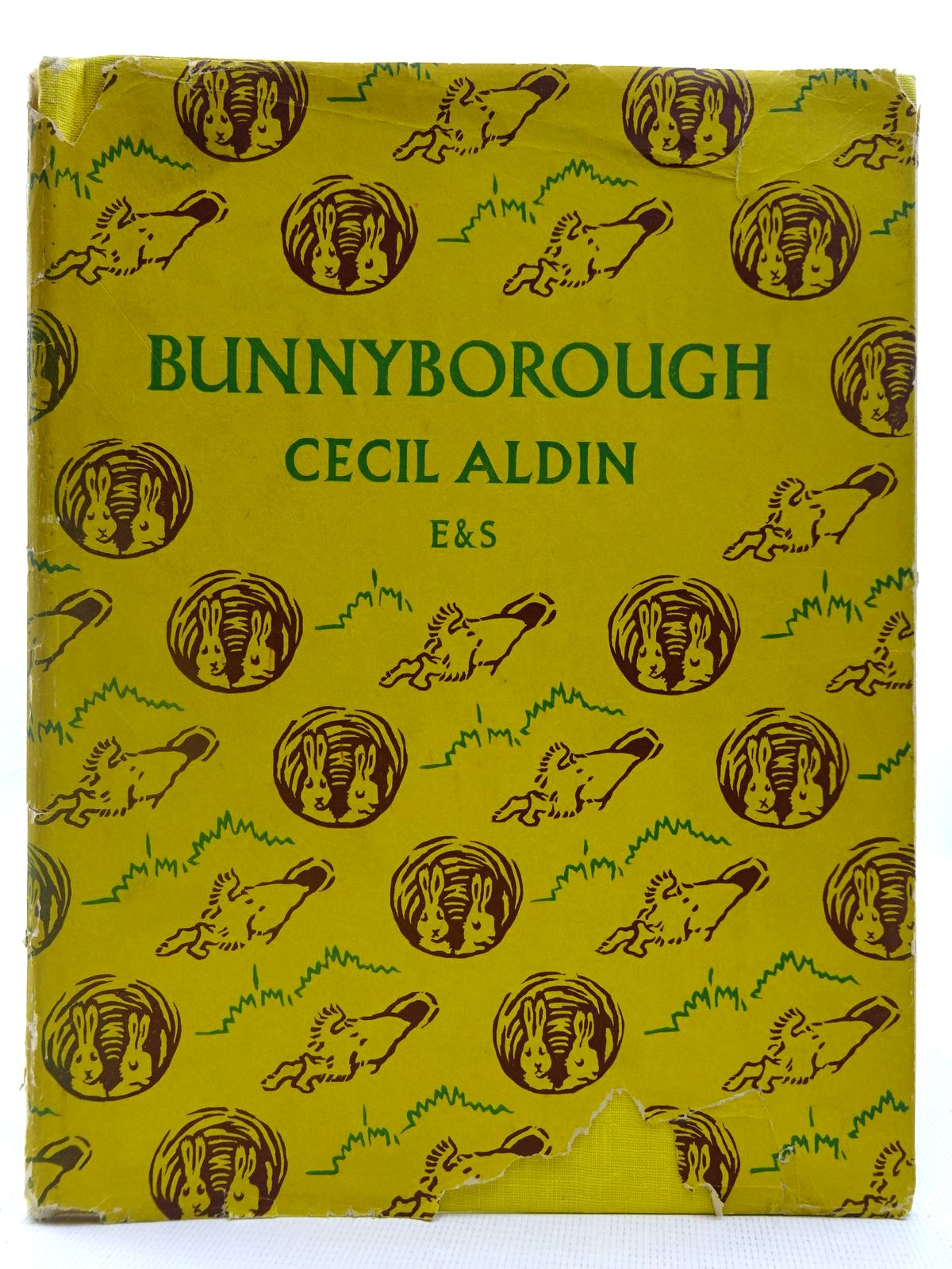 Photo of BUNNYBOROUGH written by Aldin, Cecil illustrated by Aldin, Cecil published by Eyre & Spottiswoode (STOCK CODE: 2127707)  for sale by Stella & Rose's Books