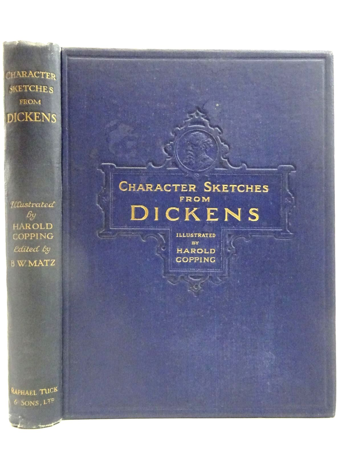 Photo of CHARACTER SKETCHES FROM DICKENS- Stock Number: 2127710