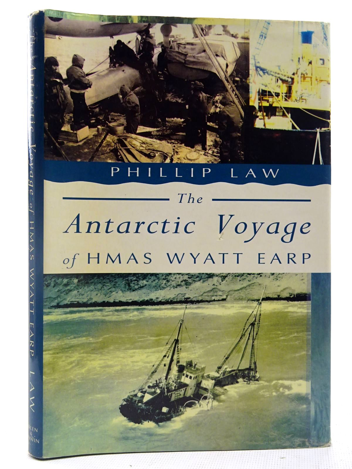 Photo of THE ANTARCTIC VOYAGE OF HMAS WYATT EARP- Stock Number: 2127726