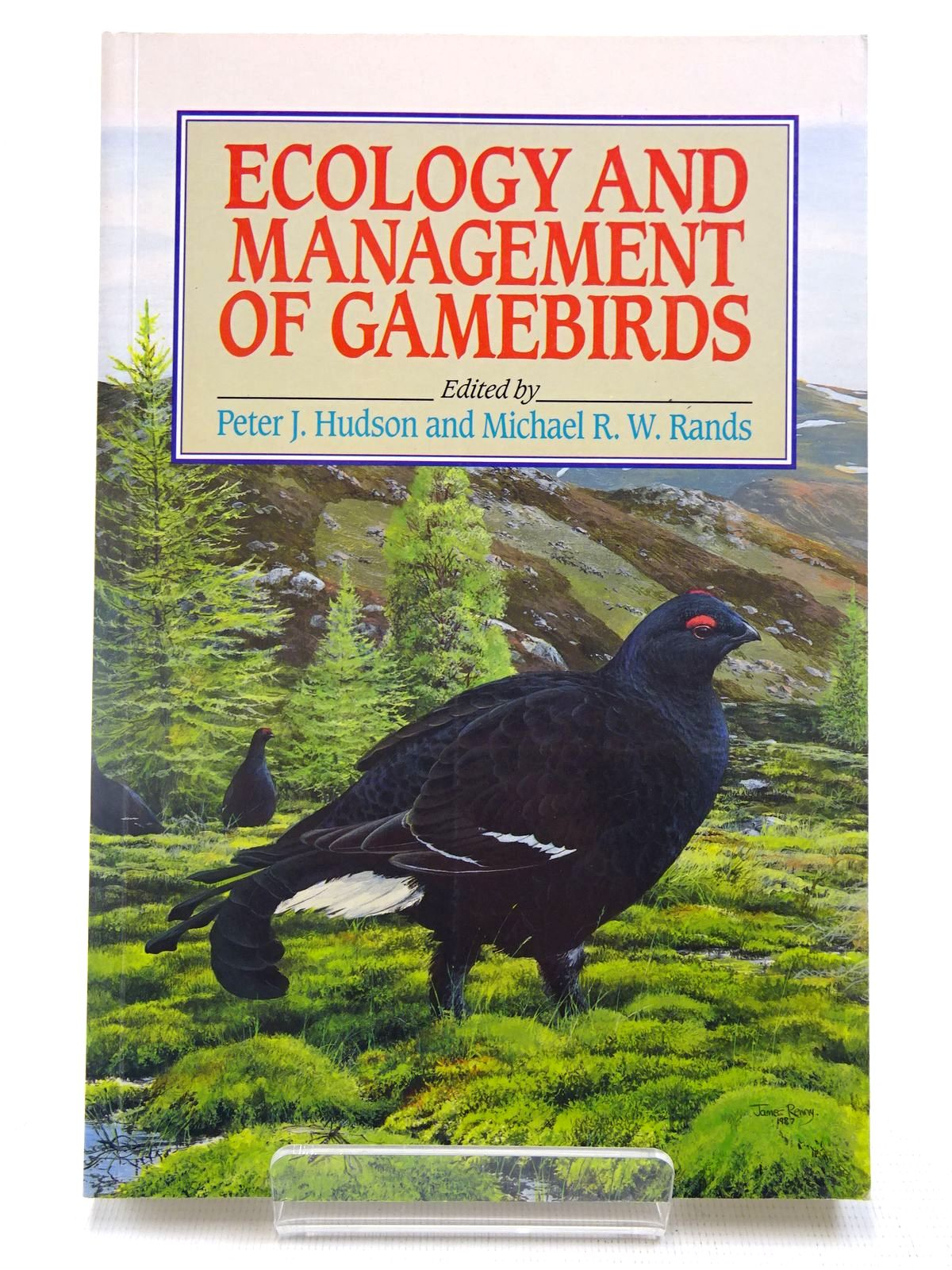 Photo of ECOLOGY AND MANAGEMENT OF GAMEBIRDS written by Hudson, Peter J.<br />Rands, Michael R.W. published by Bsp Professional Books (STOCK CODE: 2127755)  for sale by Stella & Rose's Books