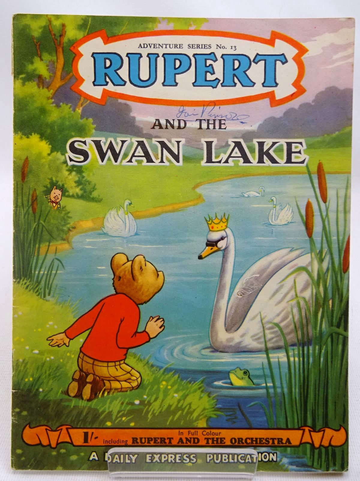 Photo of RUPERT ADVENTURE SERIES No. 13 - RUPERT AND THE SWAN LAKE- Stock Number: 2127777