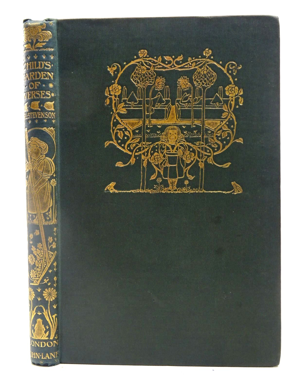 Photo of A CHILD'S GARDEN OF VERSES written by Stevenson, Robert Louis illustrated by Robinson, Charles published by John Lane The Bodley Head (STOCK CODE: 2127785)  for sale by Stella & Rose's Books