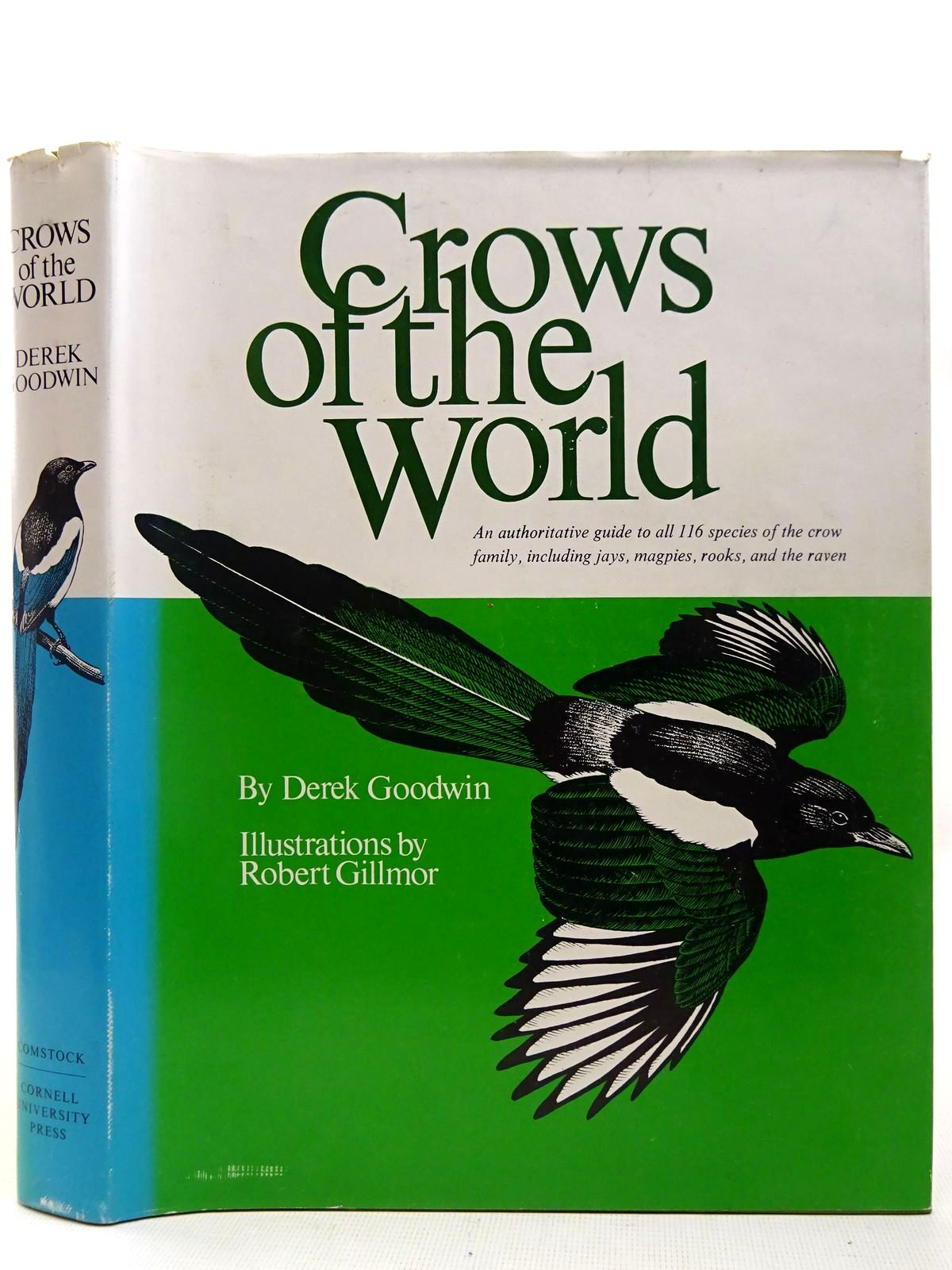 Photo of CROWS OF THE WORLD written by Goodwin, Derek illustrated by Gillmor, Robert published by Comstock Publishing Associates (STOCK CODE: 2127821)  for sale by Stella & Rose's Books