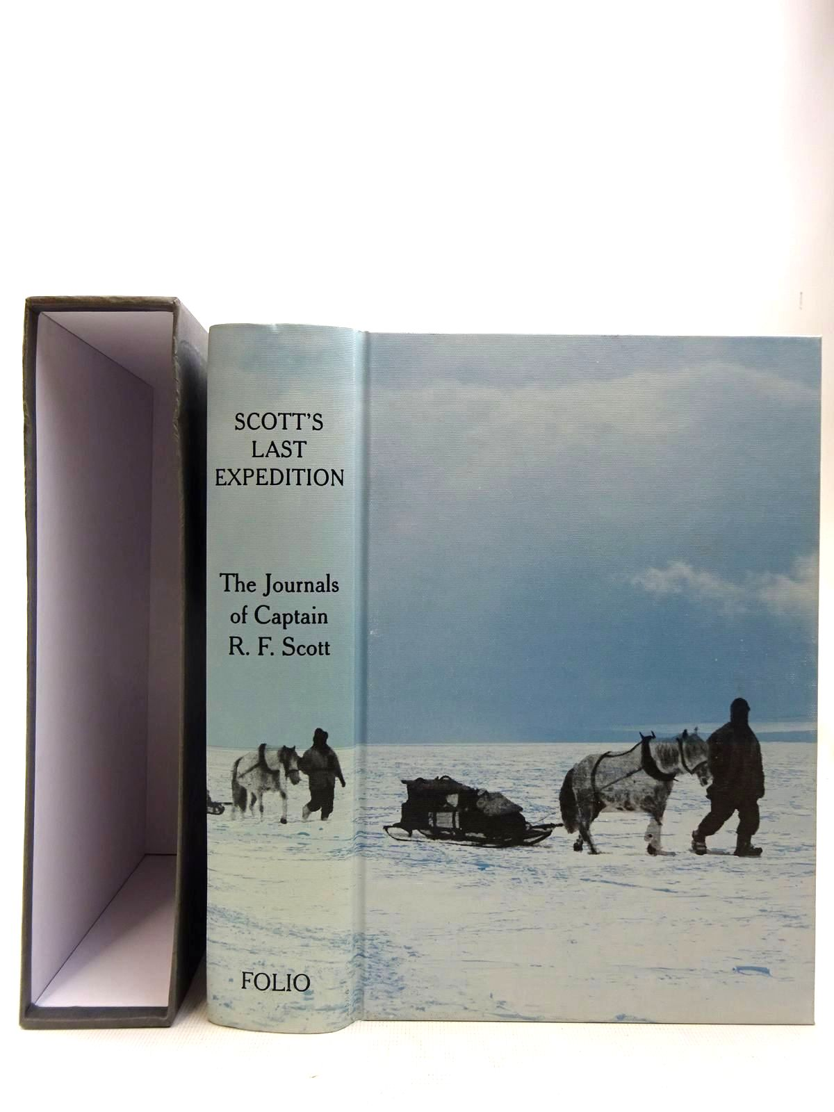 Photo of SCOTT'S LAST EXPEDITION written by Scott, Robert Falcon illustrated by Ponting, Herbert G. published by Folio Society (STOCK CODE: 2127847)  for sale by Stella & Rose's Books
