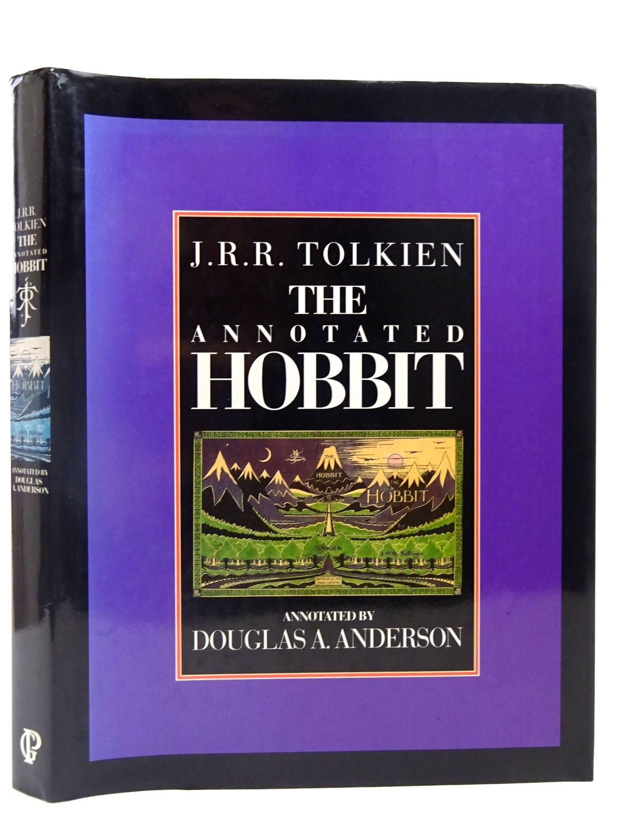 Photo of THE ANNOTATED HOBBIT written by Tolkien, J.R.R. Anderson, Douglas A. illustrated by Tolkien, J.R.R. published by Guild Publishing (STOCK CODE: 2127852)  for sale by Stella & Rose's Books