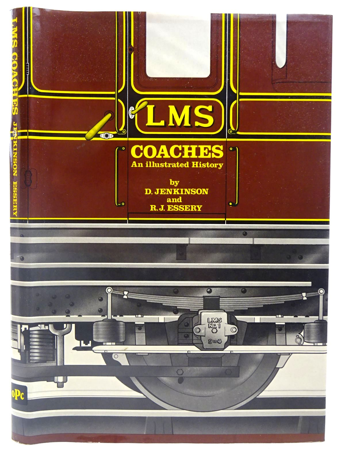 Photo of AN ILLUSTRATED HISTORY OF L.M.S. COACHES 1923-1957 written by Jenkinson, David