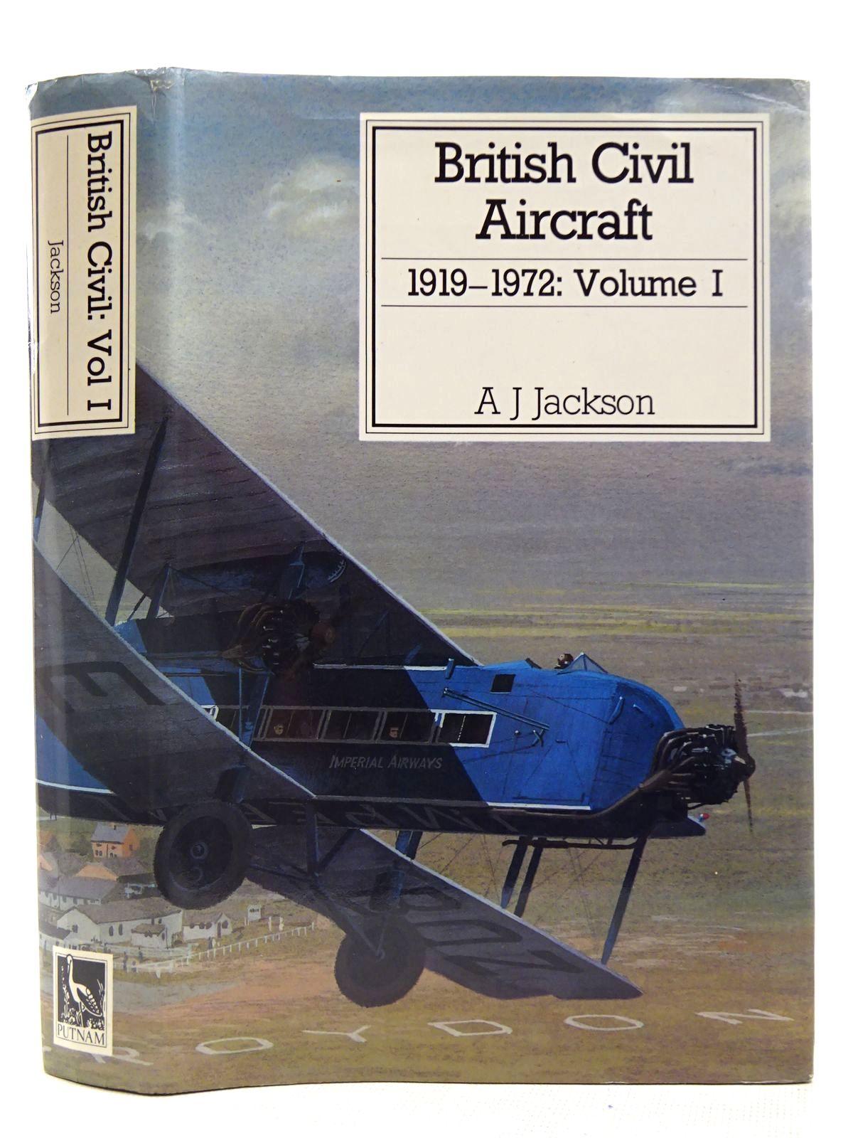 Photo of BRITISH CIVIL AIRCRAFT 1919-1972 VOLUME I- Stock Number: 2127880