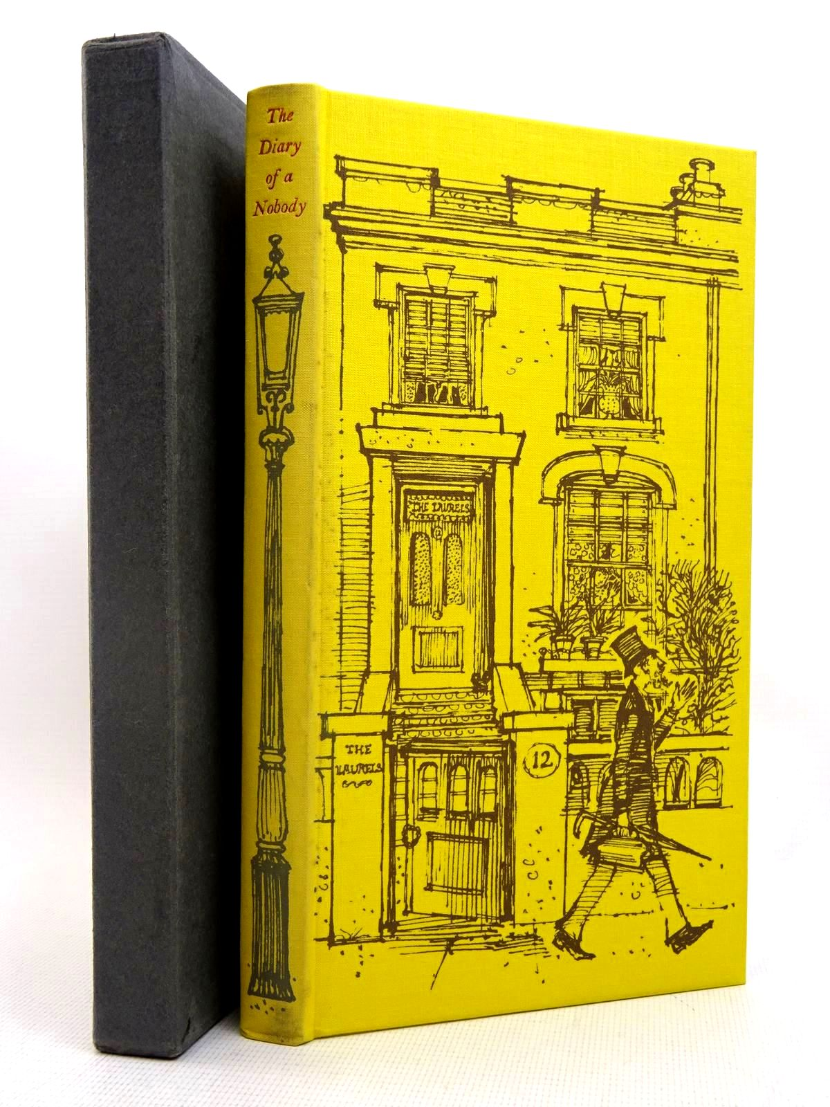 Photo of THE DIARY OF A NOBODY written by Grossmith, George<br />Grossmith, Weedon illustrated by Lawrence, John published by Folio Society (STOCK CODE: 2128023)  for sale by Stella & Rose's Books
