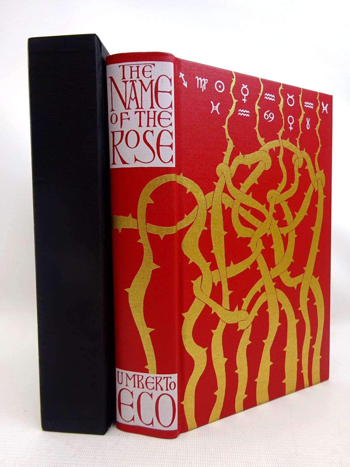 Photo of THE NAME OF THE ROSE written by Eco, Umberto<br />Weaver, William illustrated by Packer, Neil published by Folio Society (STOCK CODE: 2128037)  for sale by Stella & Rose's Books