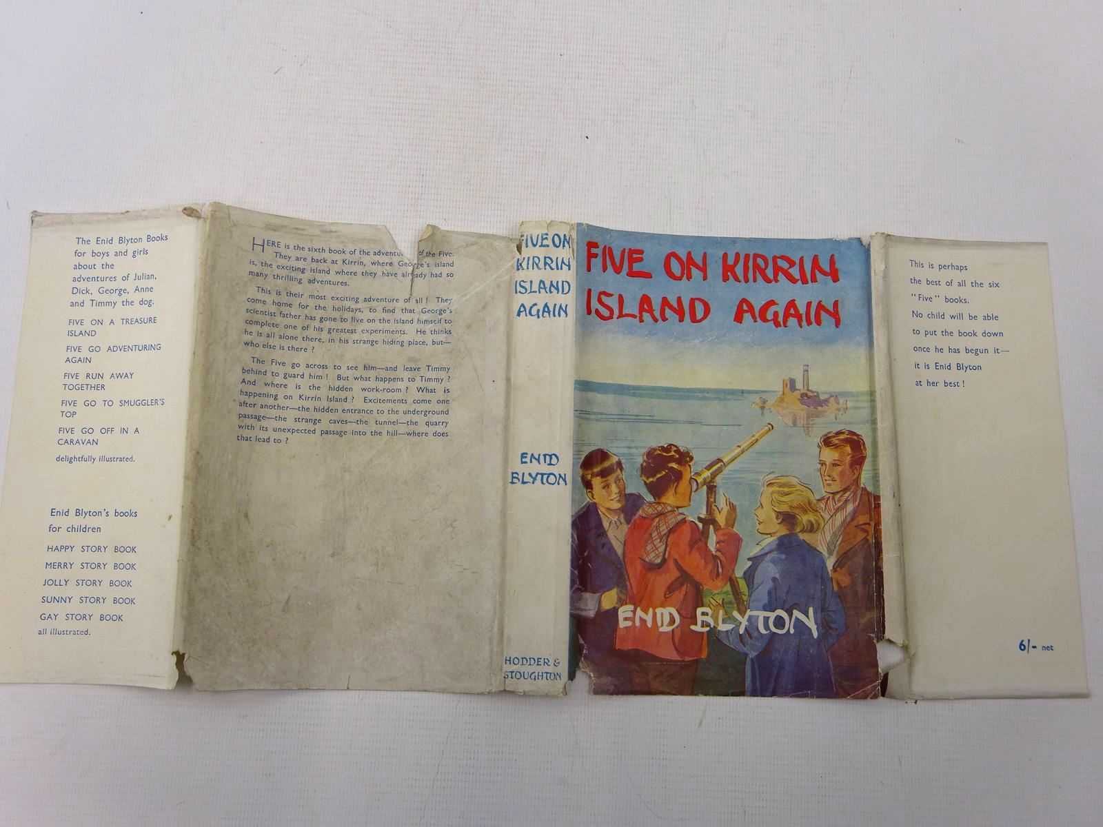 Photo of FIVE ON KIRRIN ISLAND AGAIN written by Blyton, Enid illustrated by Soper, Eileen published by Hodder & Stoughton (STOCK CODE: 2128058)  for sale by Stella & Rose's Books