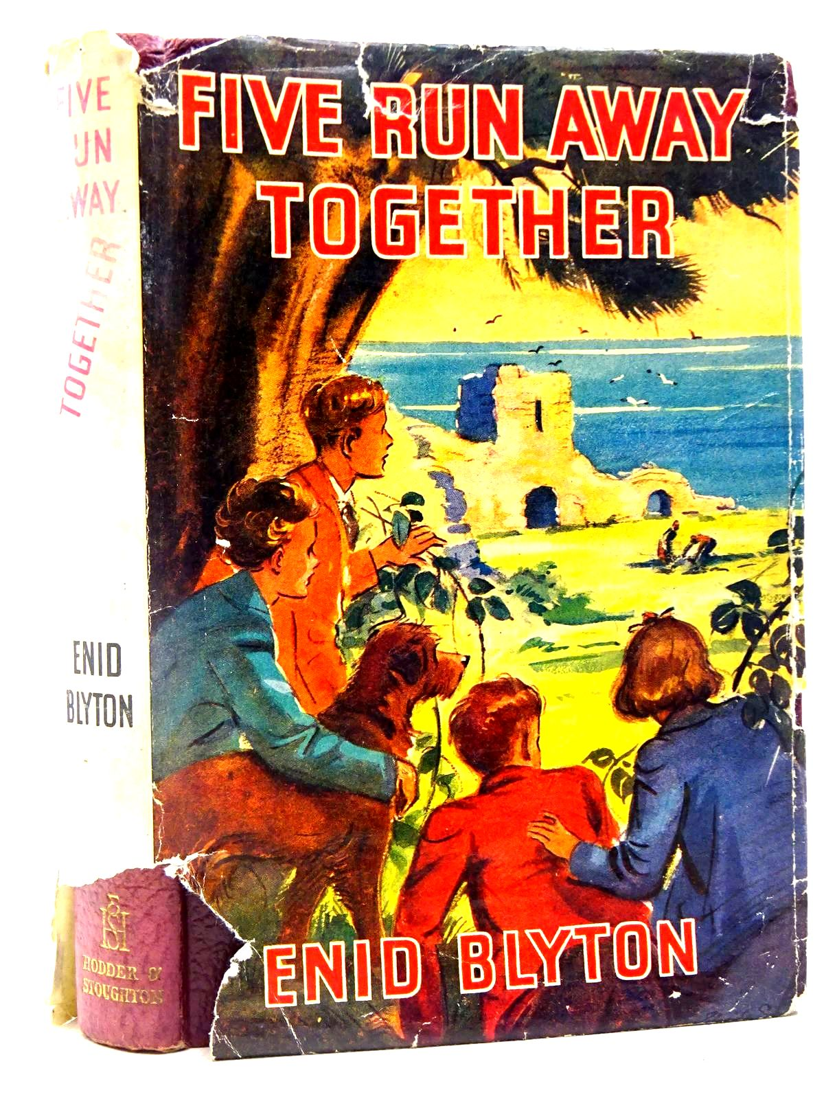 Photo of FIVE RUN AWAY TOGETHER written by Blyton, Enid illustrated by Soper, Eileen published by Hodder & Stoughton (STOCK CODE: 2128061)  for sale by Stella & Rose's Books