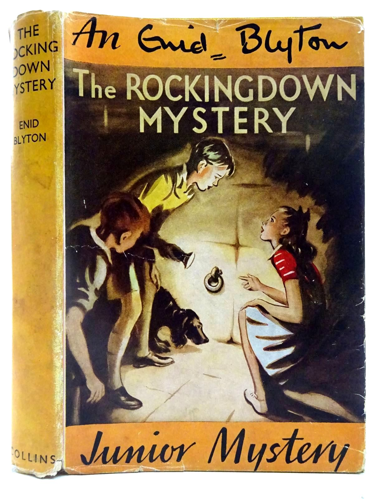Photo of THE ROCKINGDOWN MYSTERY written by Blyton, Enid illustrated by Dunlop, Gilbert published by Collins (STOCK CODE: 2128078)  for sale by Stella & Rose's Books