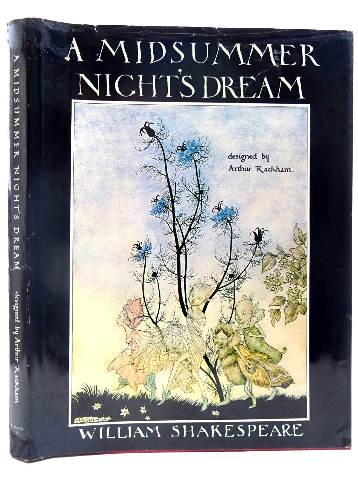 Photo of A MIDSUMMER NIGHT'S DREAM written by Shakespeare, William illustrated by Rackham, Arthur Hewitt, Graily published by Weidenfeld and Nicolson (STOCK CODE: 2128133)  for sale by Stella & Rose's Books