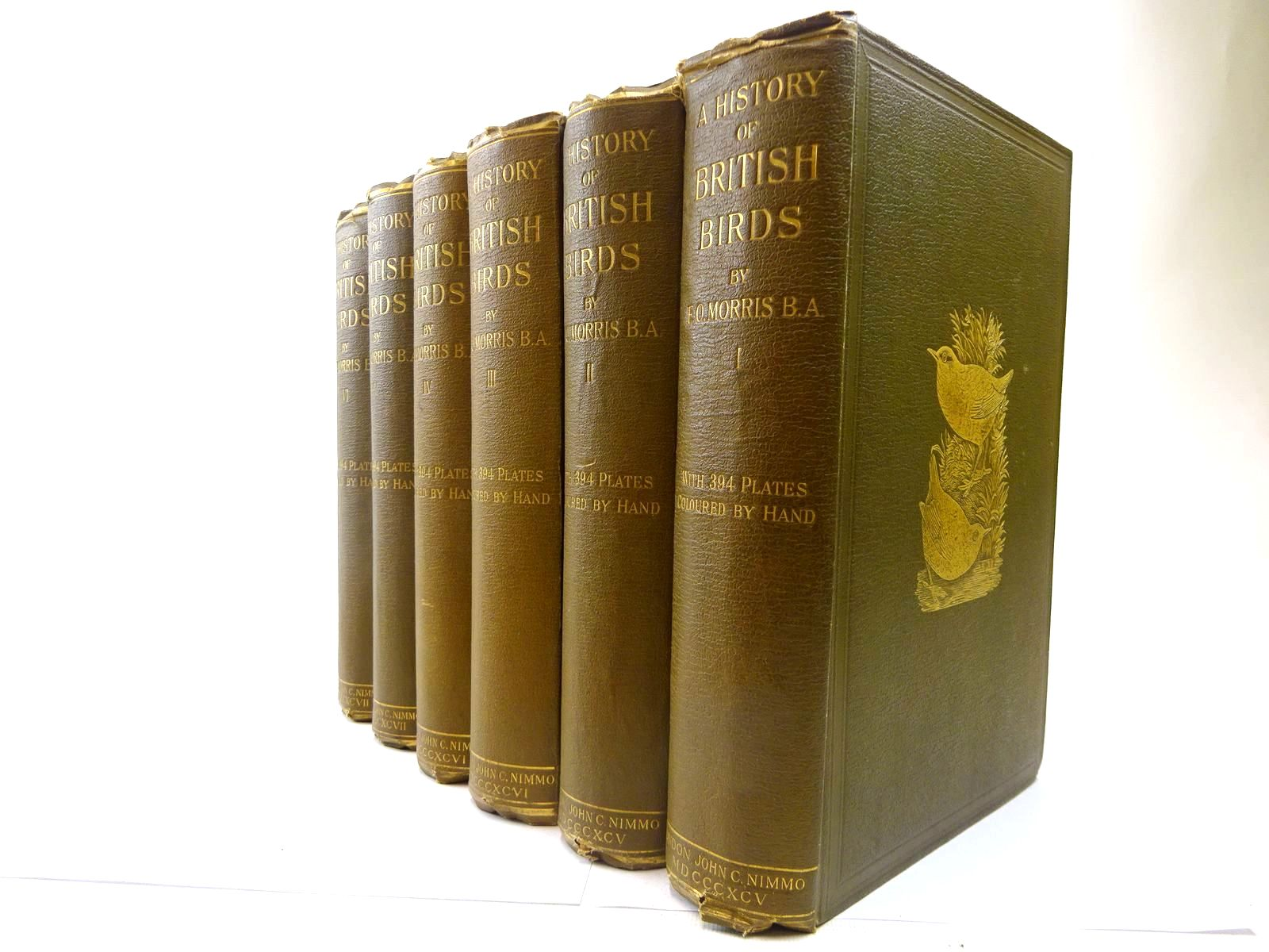 Photo of A HISTORY OF BRITISH BIRDS (6 VOLUMES)- Stock Number: 2128141
