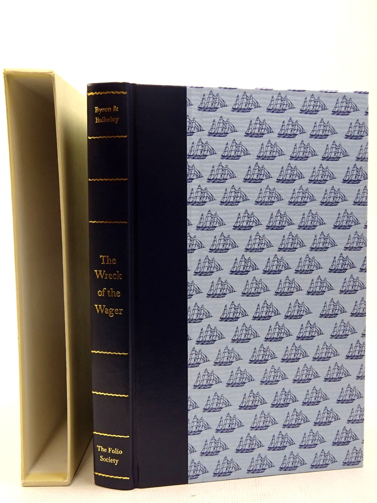 Photo of THE WRECK OF THE WAGER written by Bulkeley, John Byron, John Hibbert, Christopher published by Folio Society (STOCK CODE: 2128192)  for sale by Stella & Rose's Books