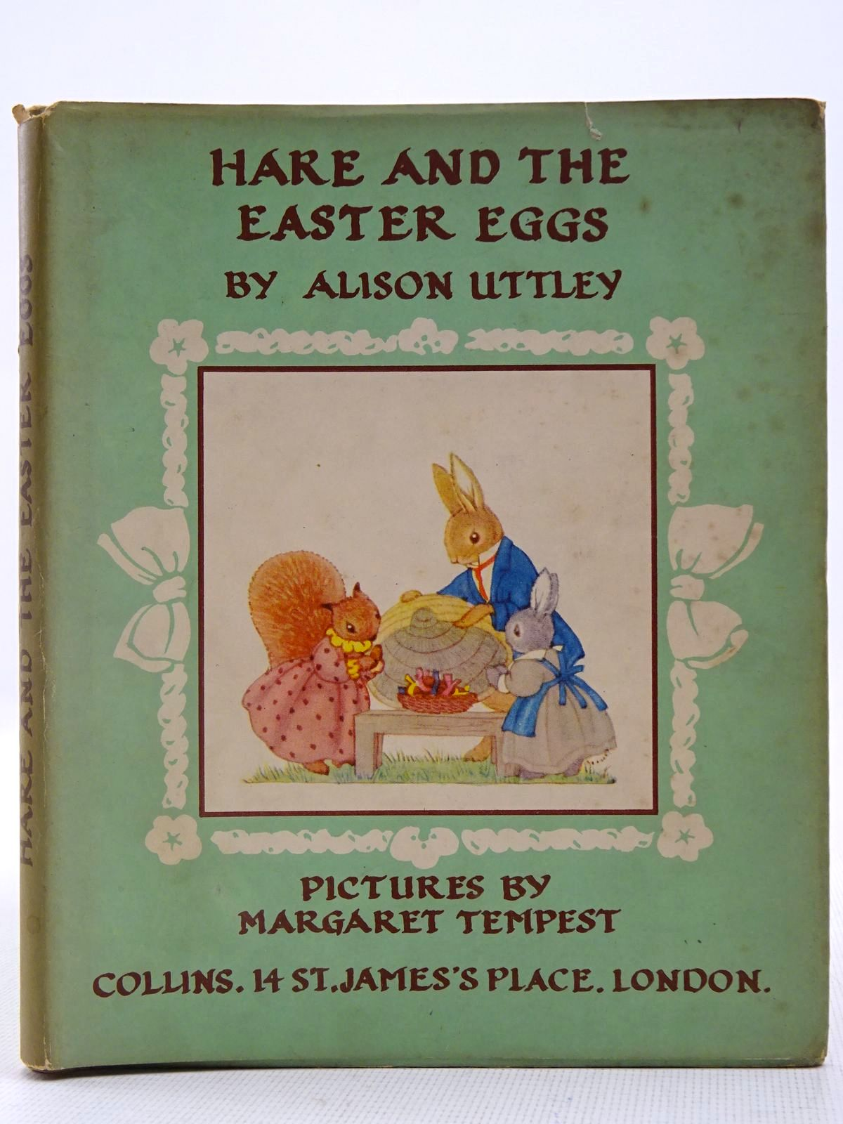 Photo of HARE AND THE EASTER EGGS written by Uttley, Alison illustrated by Tempest, Margaret published by Collins (STOCK CODE: 2128239)  for sale by Stella & Rose's Books