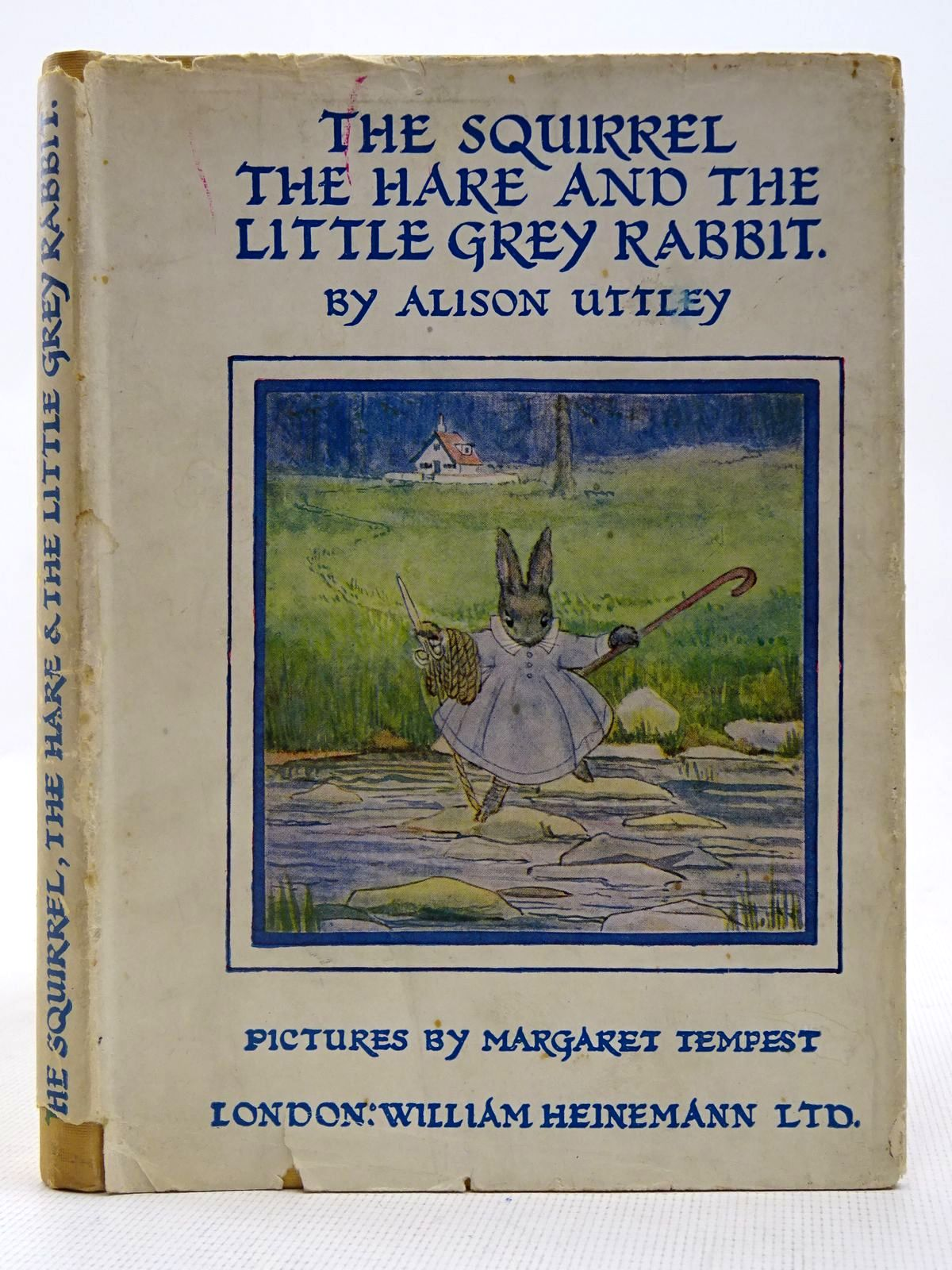 Photo of THE SQUIRREL, THE HARE AND THE LITTLE GREY RABBIT written by Uttley, Alison illustrated by Tempest, Margaret published by William Heinemann Ltd. (STOCK CODE: 2128241)  for sale by Stella & Rose's Books