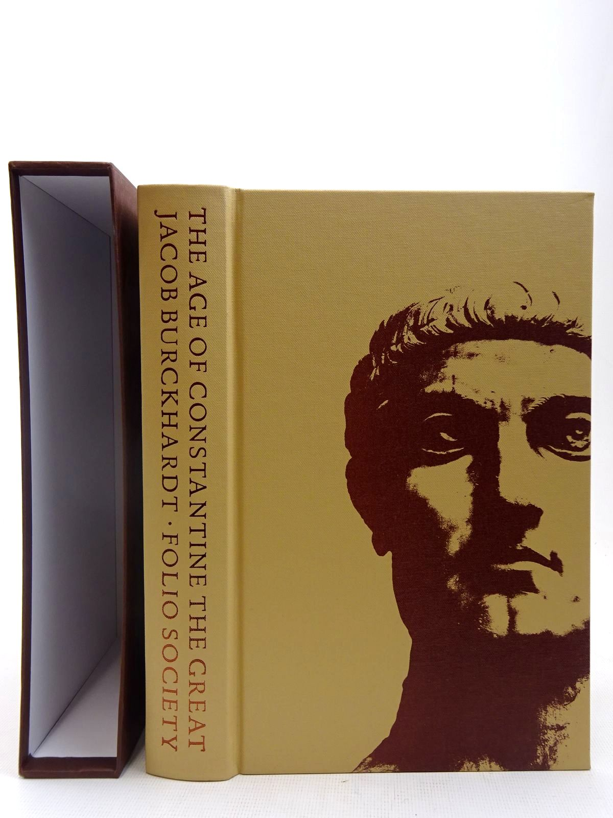 Photo of THE AGE OF CONSTANTINE THE GREAT written by Burckhardt, Jacob published by Folio Society (STOCK CODE: 2128266)  for sale by Stella & Rose's Books