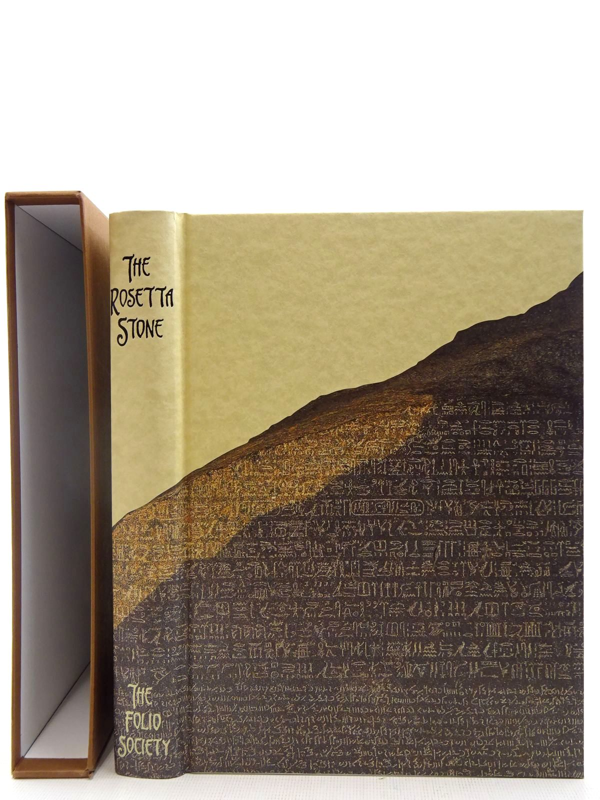 Photo of THE ROSETTA STONE written by Sole, Robert Valbelle, Dominique Davies, W.V published by Folio Society (STOCK CODE: 2128297)  for sale by Stella & Rose's Books