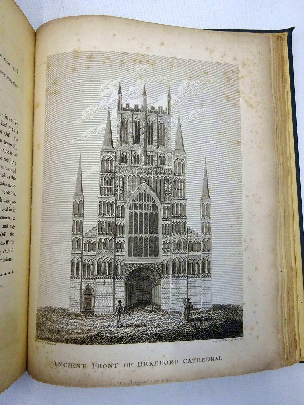 Photo of COLLECTIONS TOWARDS THE HISTORY AND ANTIQUITIES OF THE COUNTY OF HEREFORD (3 VOLUMES) written by Duncumb, John Cooke, William Henry published by John Murray (STOCK CODE: 2128333)  for sale by Stella & Rose's Books