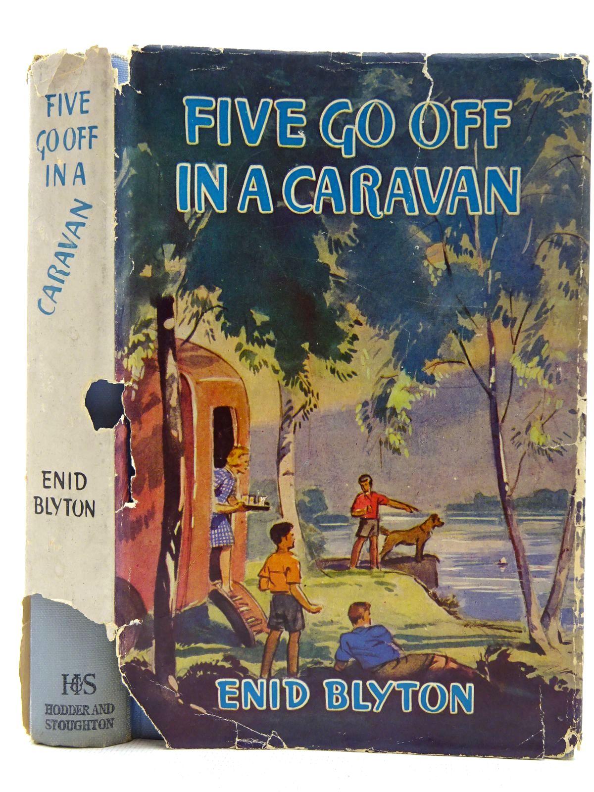 Photo of FIVE GO OFF IN A CARAVAN- Stock Number: 2128335