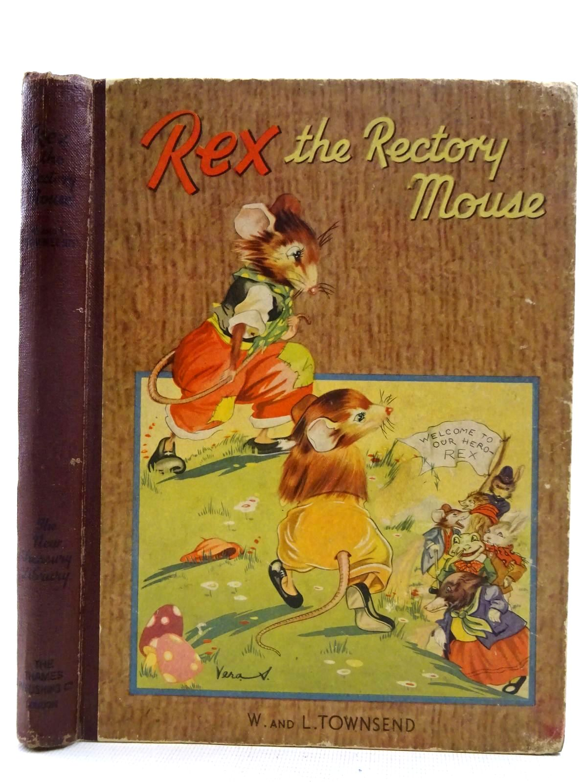 Photo of REX THE RECTORY MOUSE written by Townsend, W.<br />Townsend, L. illustrated by Rice-Jay, Vera published by The Thames Publishing Co. (STOCK CODE: 2128340)  for sale by Stella & Rose's Books
