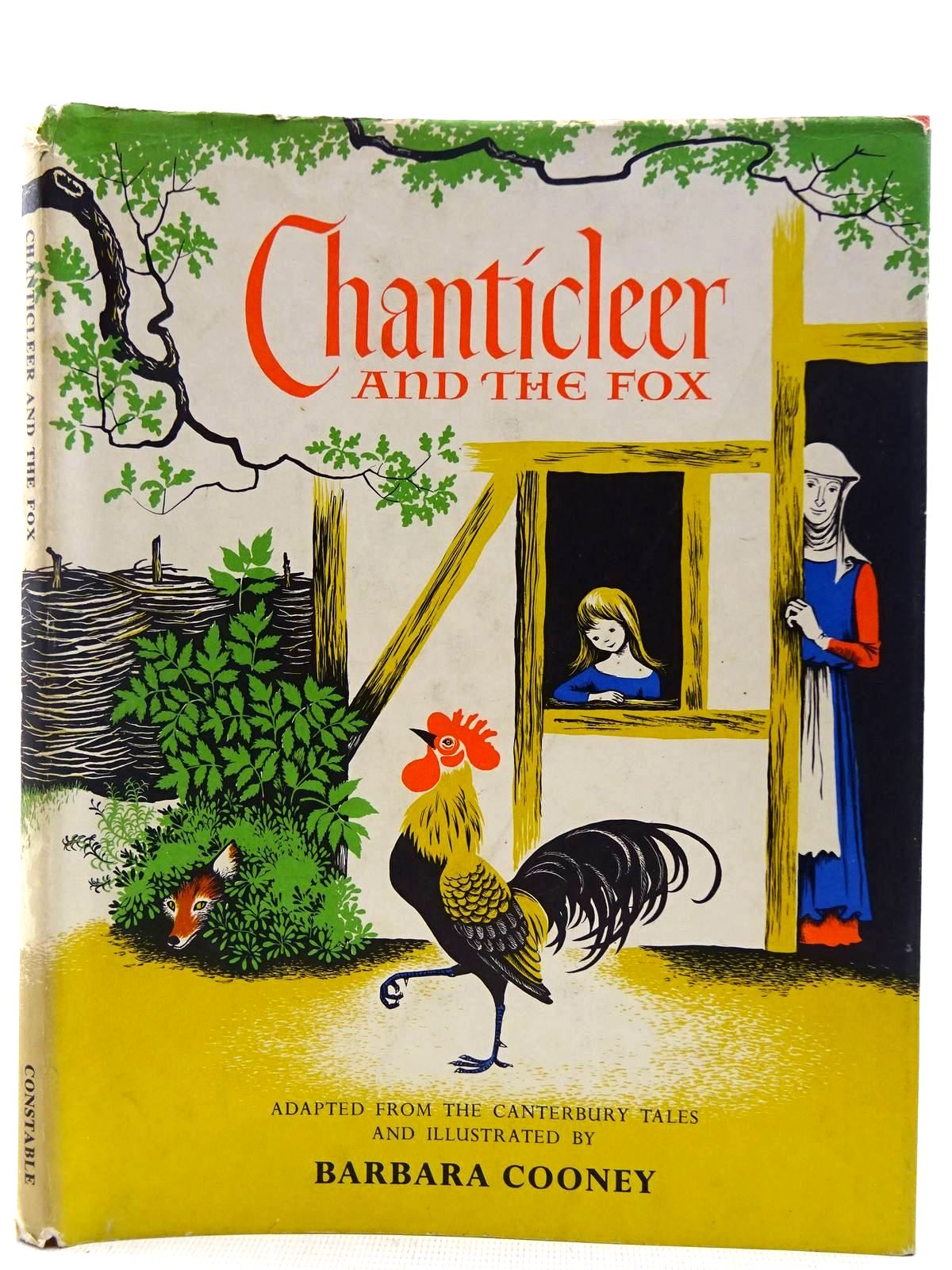 Photo of CHANTICLEER AND THE FOX written by Chaucer, Geoffrey<br />Cooney, Barbara illustrated by Cooney, Barbara published by Kestrel Books (STOCK CODE: 2128349)  for sale by Stella & Rose's Books