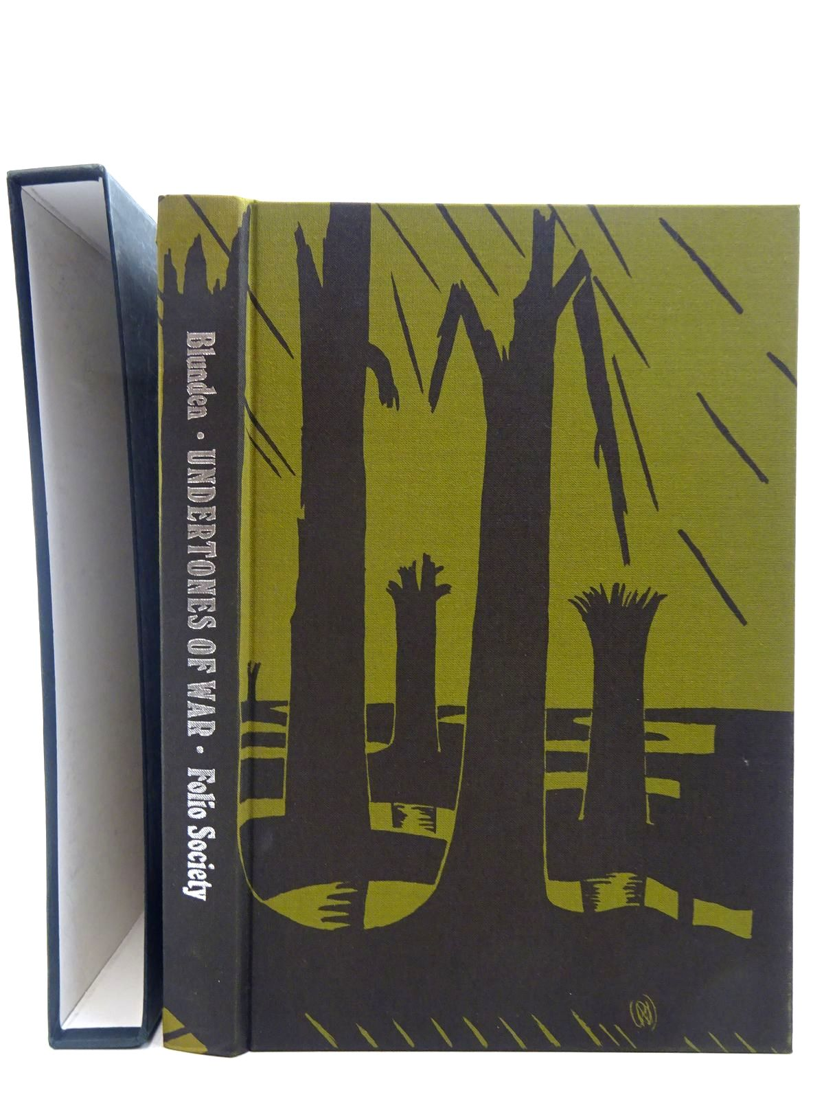 Photo of UNDERTONES OF WAR written by Blunden, Edmund illustrated by Nash, Paul<br />et al.,  published by Folio Society (STOCK CODE: 2128367)  for sale by Stella & Rose's Books