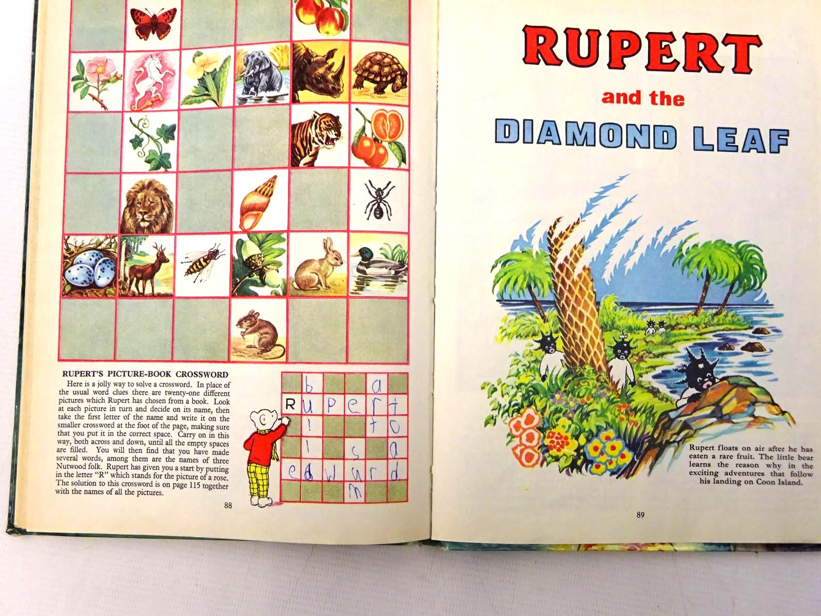 Photo of RUPERT ANNUAL 1960 written by Bestall, Alfred illustrated by Bestall, Alfred published by Daily Express (STOCK CODE: 2128410)  for sale by Stella & Rose's Books