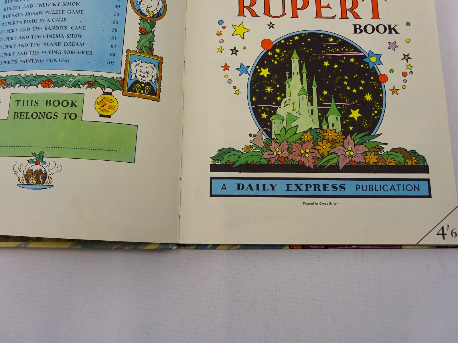 Photo of RUPERT ANNUAL 1956 - THE RUPERT BOOK written by Bestall, Alfred illustrated by Bestall, Alfred published by Oldbourne Book Co. Ltd. (STOCK CODE: 2128412)  for sale by Stella & Rose's Books