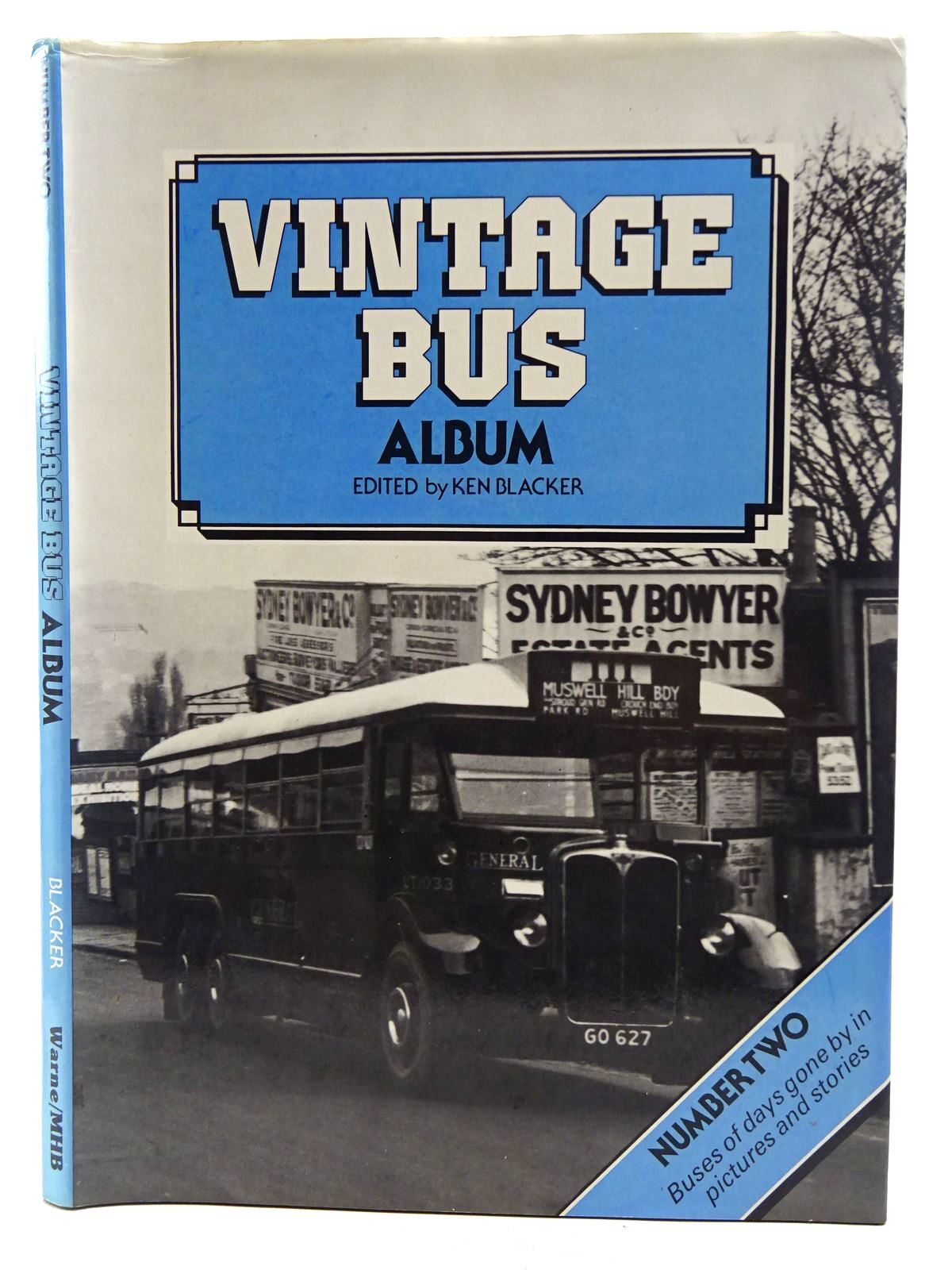 Photo of VINTAGE BUS ALBUM NUMBER TWO written by Blacker, Ken published by Frederick Warne (Publishers) Ltd. (STOCK CODE: 2128439)  for sale by Stella & Rose's Books