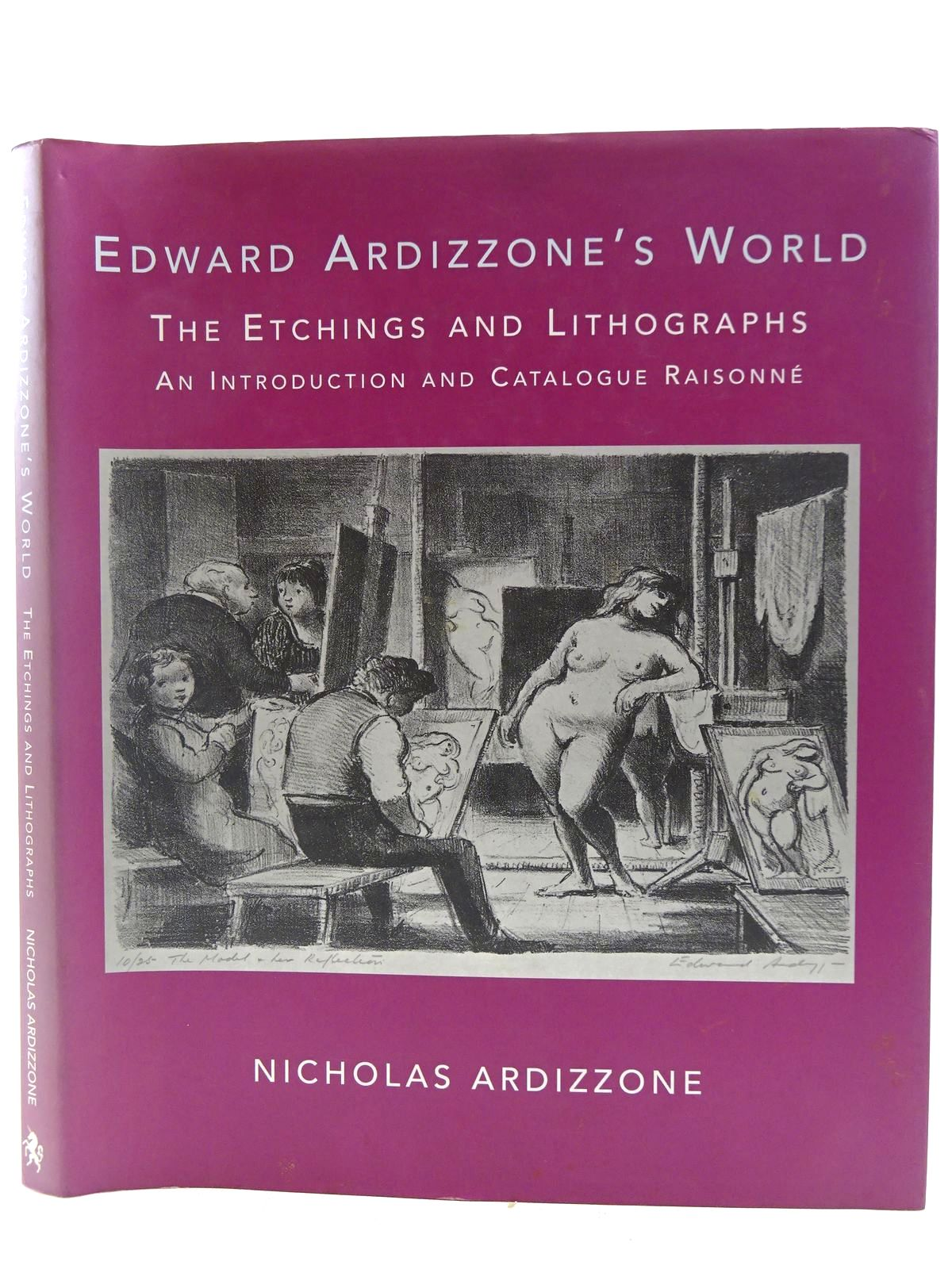 Photo of EDWARD ARDIZZONE'S WORLD THE ETCHINGS AND LITHOGRAPHS written by Ardizzone, Nicholas illustrated by Ardizzone, Edward published by The Unicorn Press, Wolseley Fine Arts (STOCK CODE: 2128462)  for sale by Stella & Rose's Books