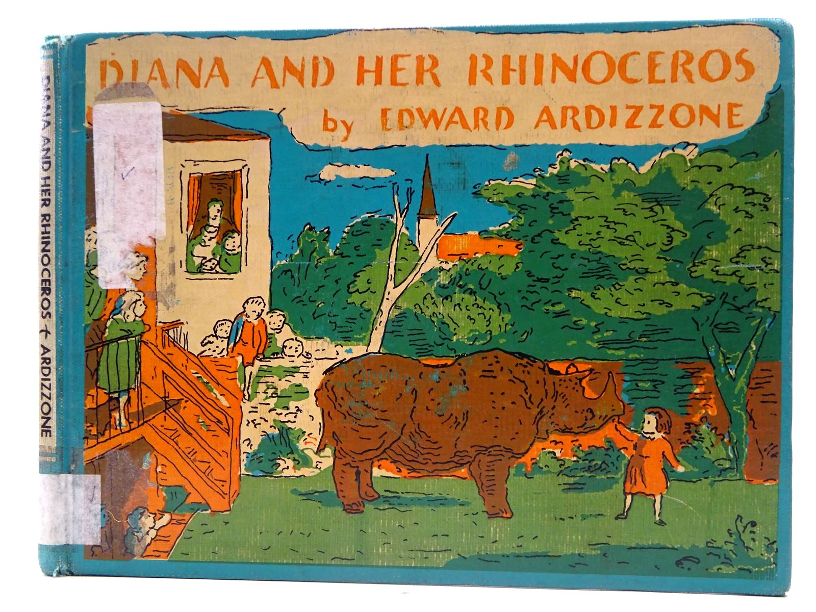 Photo of DIANA AND HER RHINOCEROS written by Ardizzone, Edward illustrated by Ardizzone, Edward published by Henry Z. Walck Inc. (STOCK CODE: 2128466)  for sale by Stella & Rose's Books