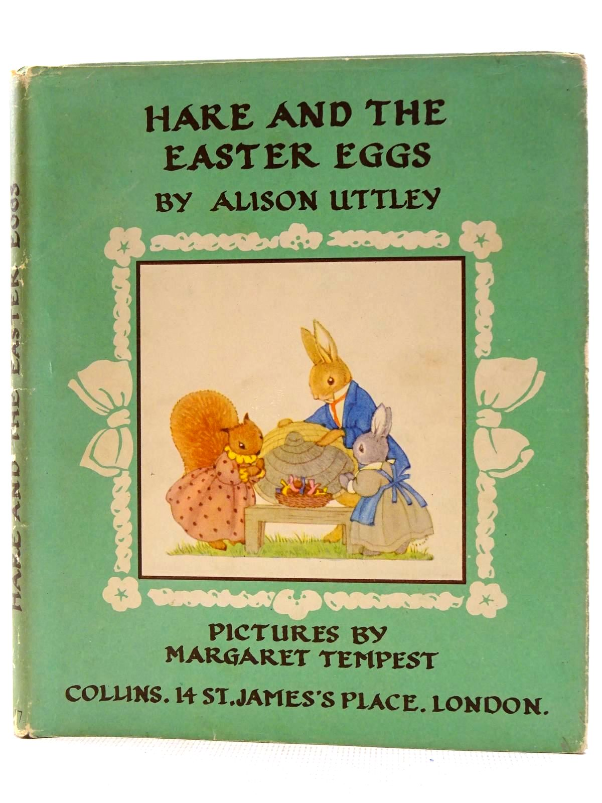 Photo of HARE AND THE EASTER EGGS written by Uttley, Alison illustrated by Tempest, Margaret published by Collins (STOCK CODE: 2128467)  for sale by Stella & Rose's Books