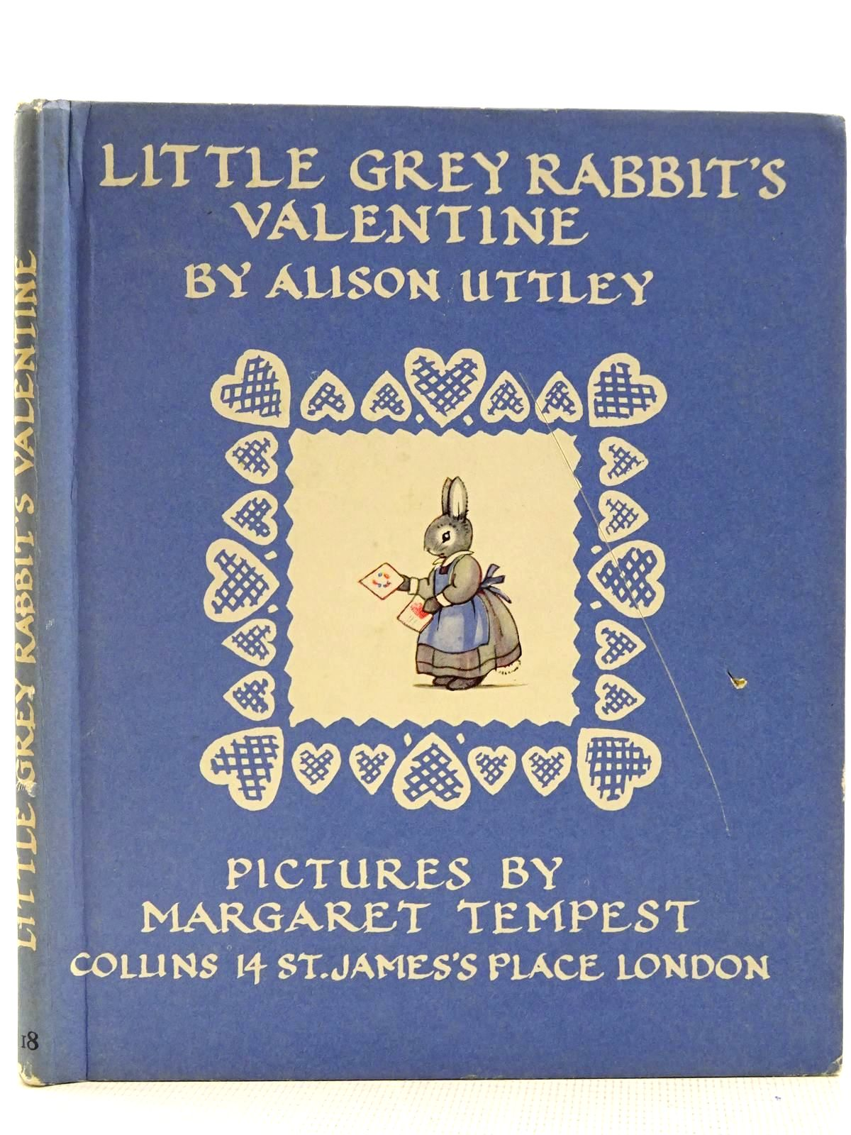 Photo of LITTLE GREY RABBIT'S VALENTINE written by Uttley, Alison illustrated by Tempest, Margaret published by Collins (STOCK CODE: 2128474)  for sale by Stella & Rose's Books