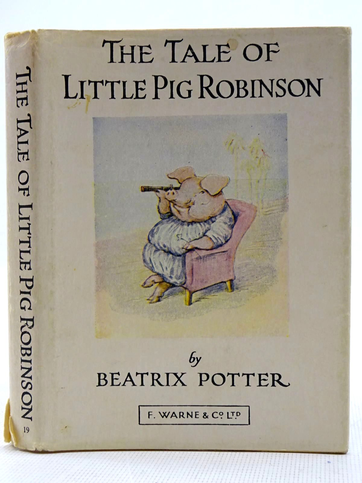 Photo of THE TALE OF LITTLE PIG ROBINSON written by Potter, Beatrix illustrated by Potter, Beatrix published by Frederick Warne & Co Ltd. (STOCK CODE: 2128481)  for sale by Stella & Rose's Books
