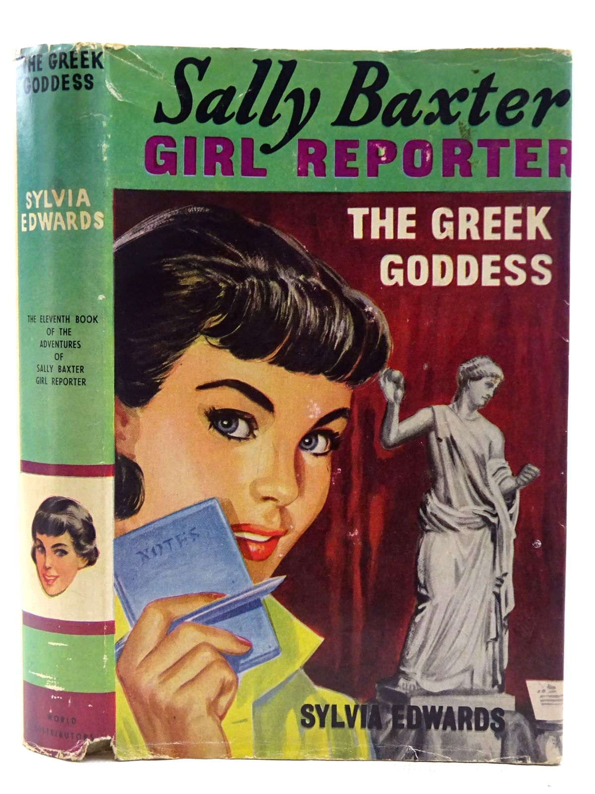 Photo of SALLY BAXTER GIRL REPORTER - THE GREEK GODDESS- Stock Number: 2128488