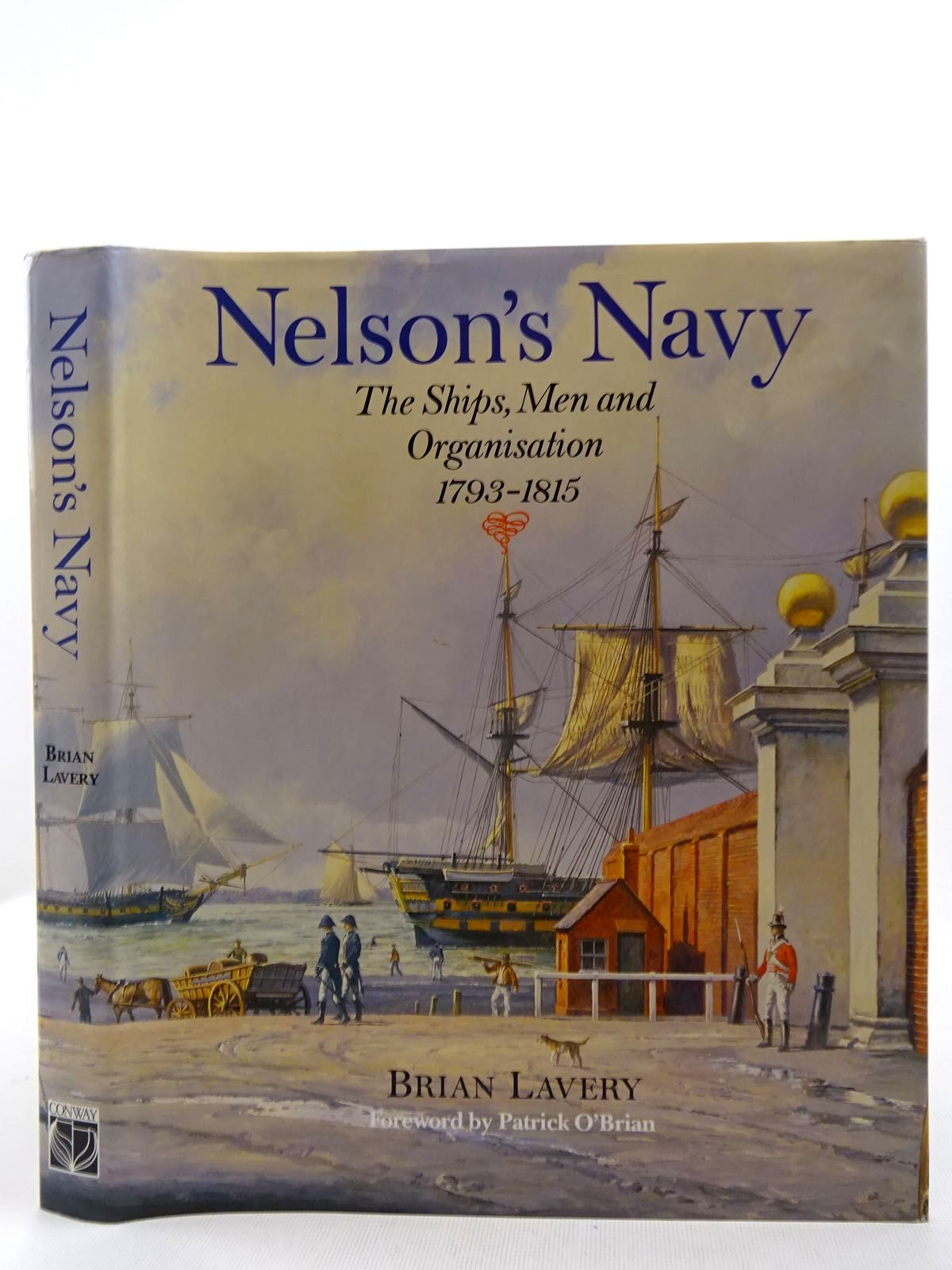 Photo of NELSON'S NAVY written by Lavery, Brian<br />O'Brian, Patrick published by Conway Maritime Press (STOCK CODE: 2128522)  for sale by Stella & Rose's Books