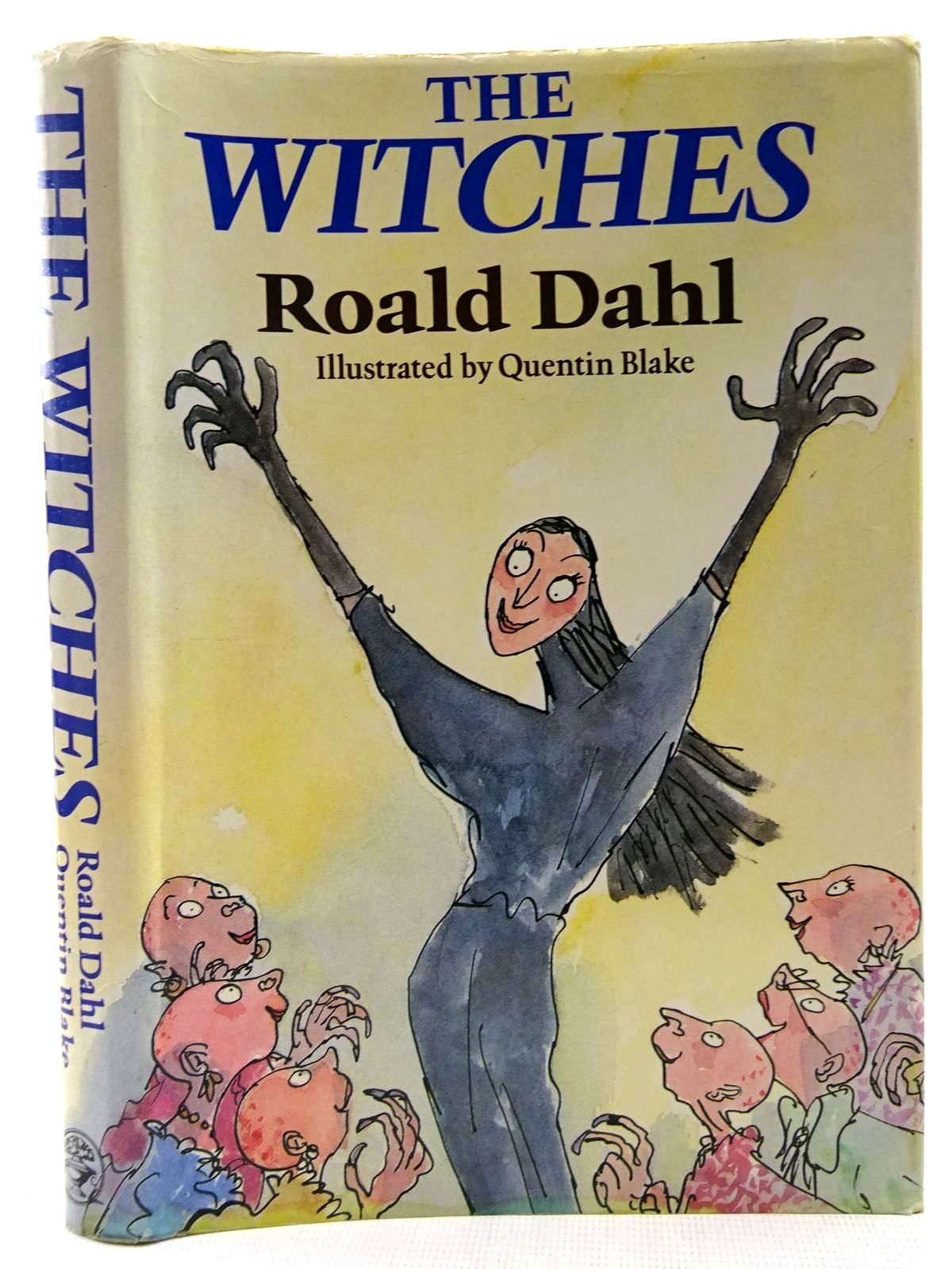 Photo of THE WITCHES written by Dahl, Roald illustrated by Blake, Quentin published by Jonathan Cape (STOCK CODE: 2128585)  for sale by Stella & Rose's Books